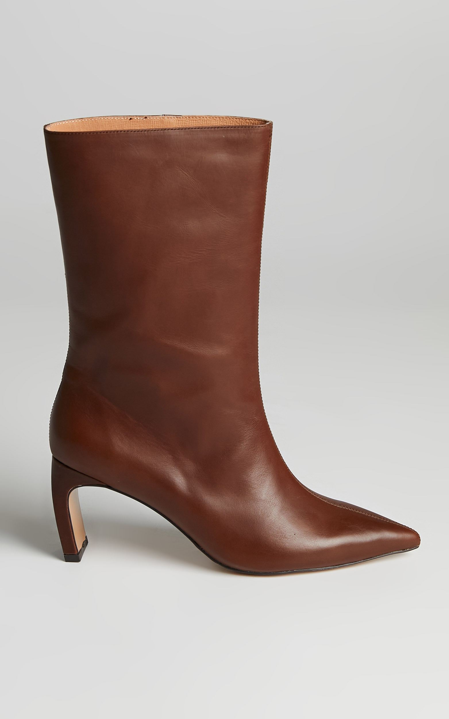 Alias Mae - Jax Boots in Choc Leather - 10.5, BRN2, hi-res image number null
