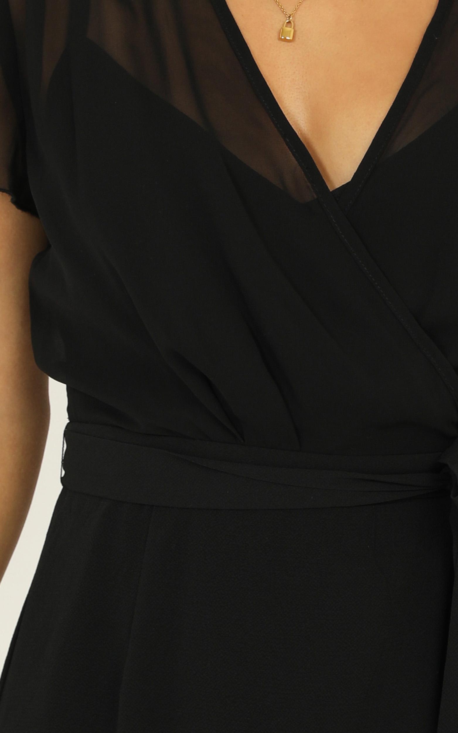 Kicking Goals Dress in black - 20 (XXXXL), Black, hi-res image number null
