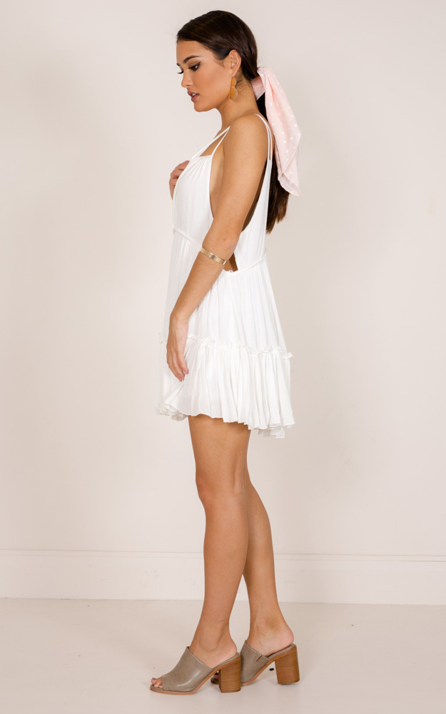 The Way You Are Tunic Dress in white - 12 (L), White, hi-res image number null