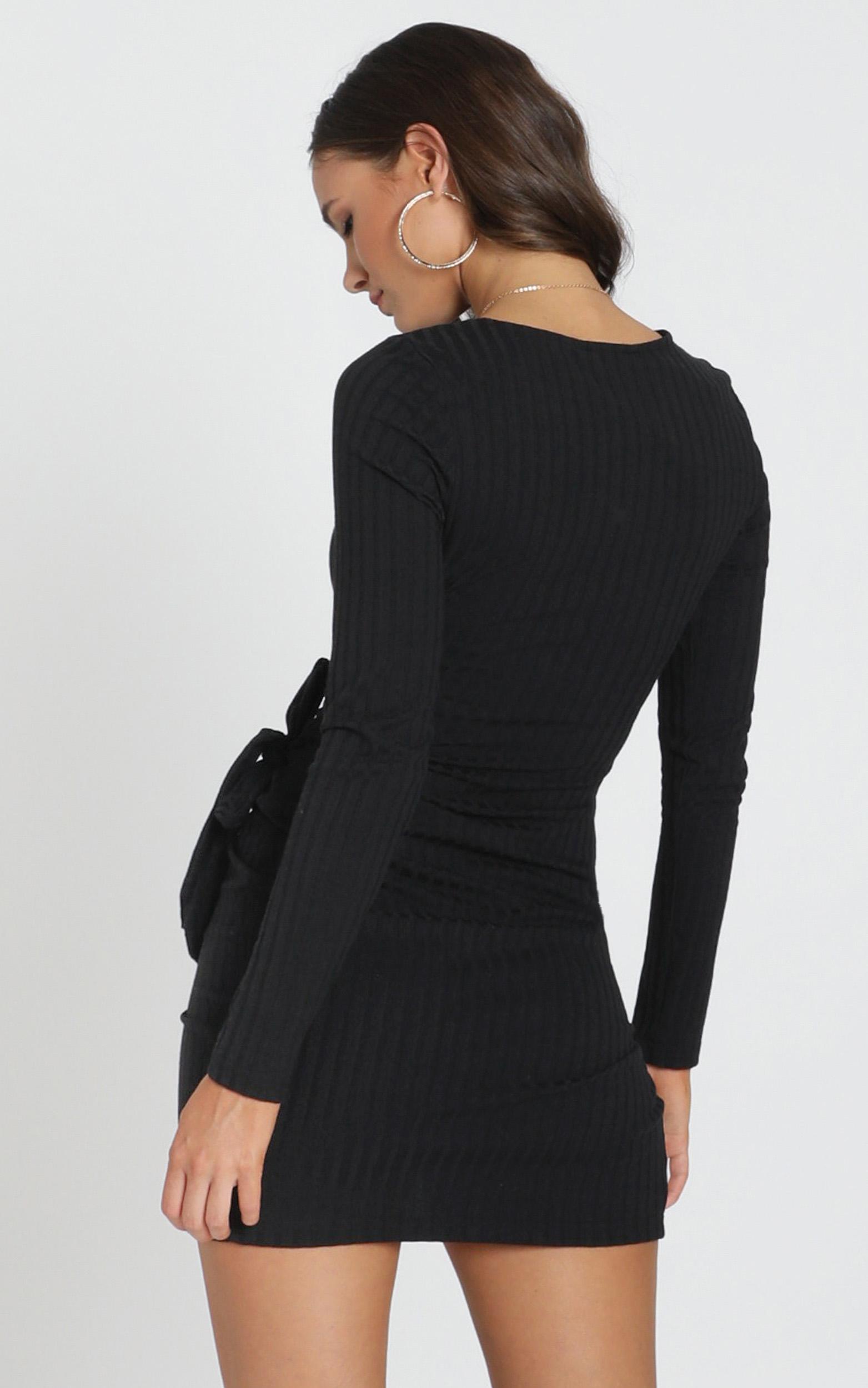 Treasure Trove Dress in black - 6 (XS), Black, hi-res image number null