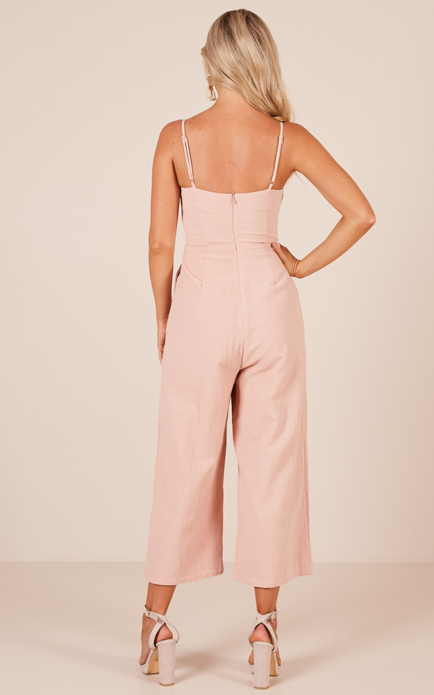 Warm Feelings jumpsuit in blush - 14 (XL), Blush, hi-res image number null