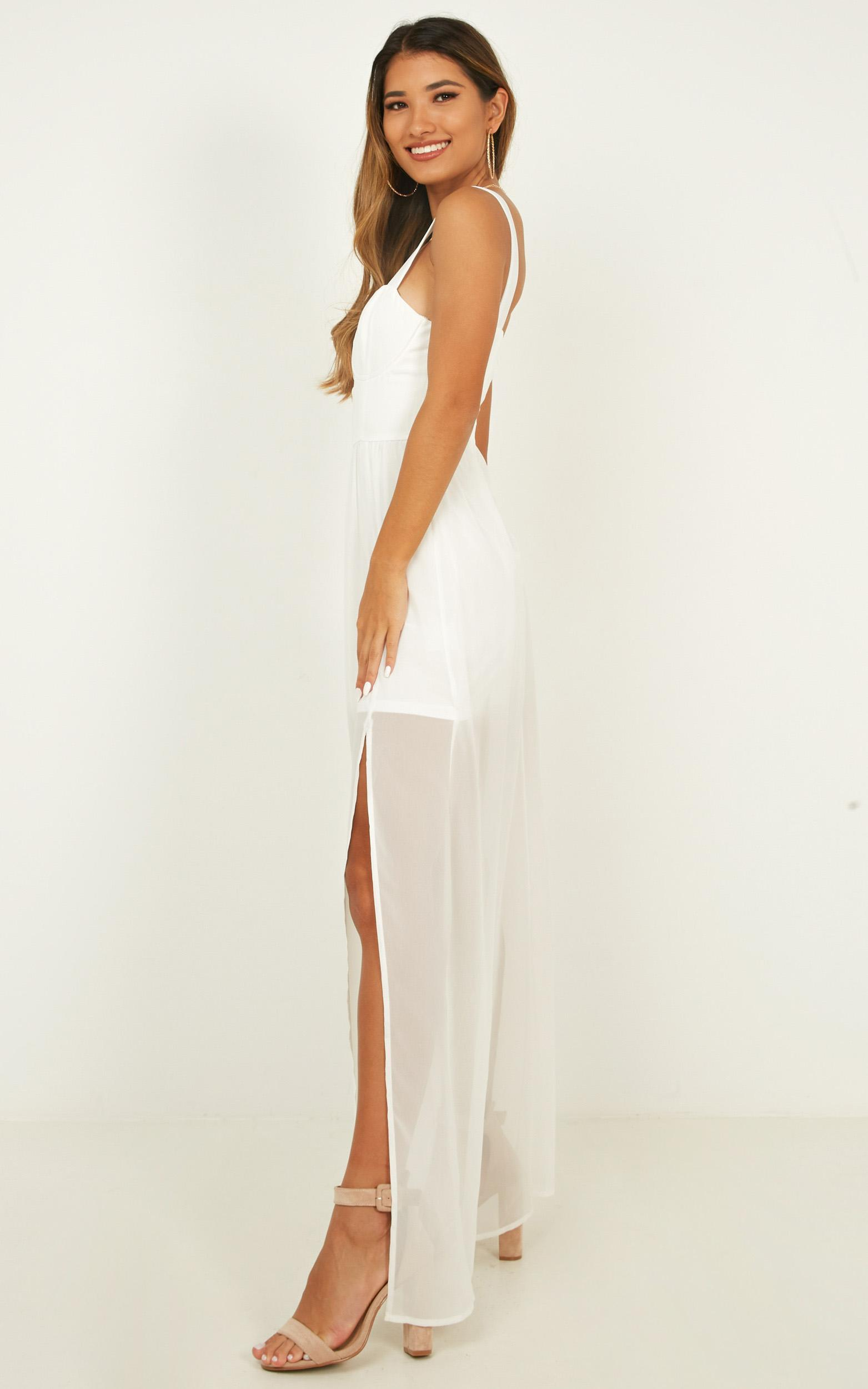 Night Stroll Dress in white - 20 (XXXXL), White, hi-res image number null