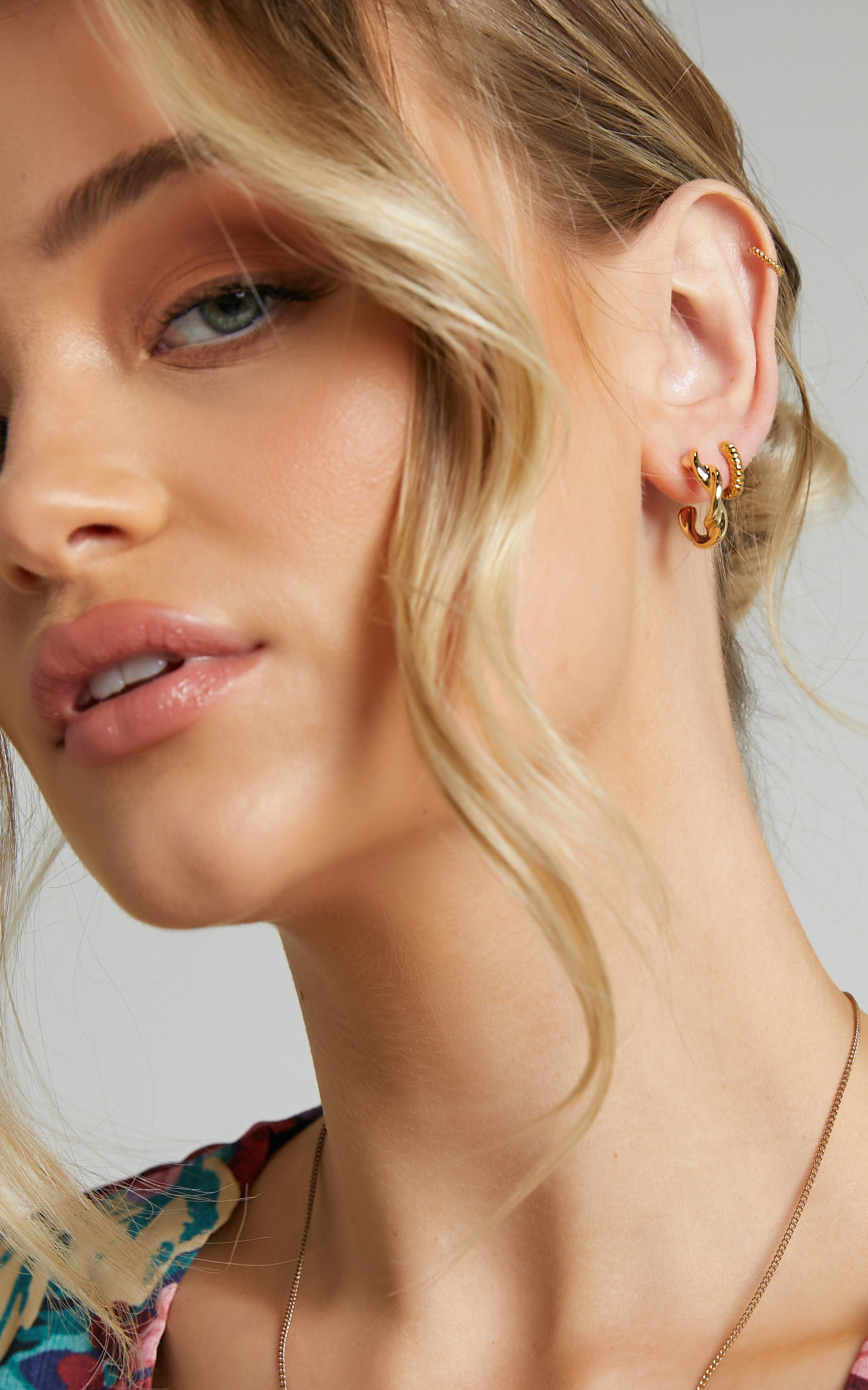 RELIQUIA - GENOA EARRINGS in Gold - NoSize, GLD1, hi-res image number null
