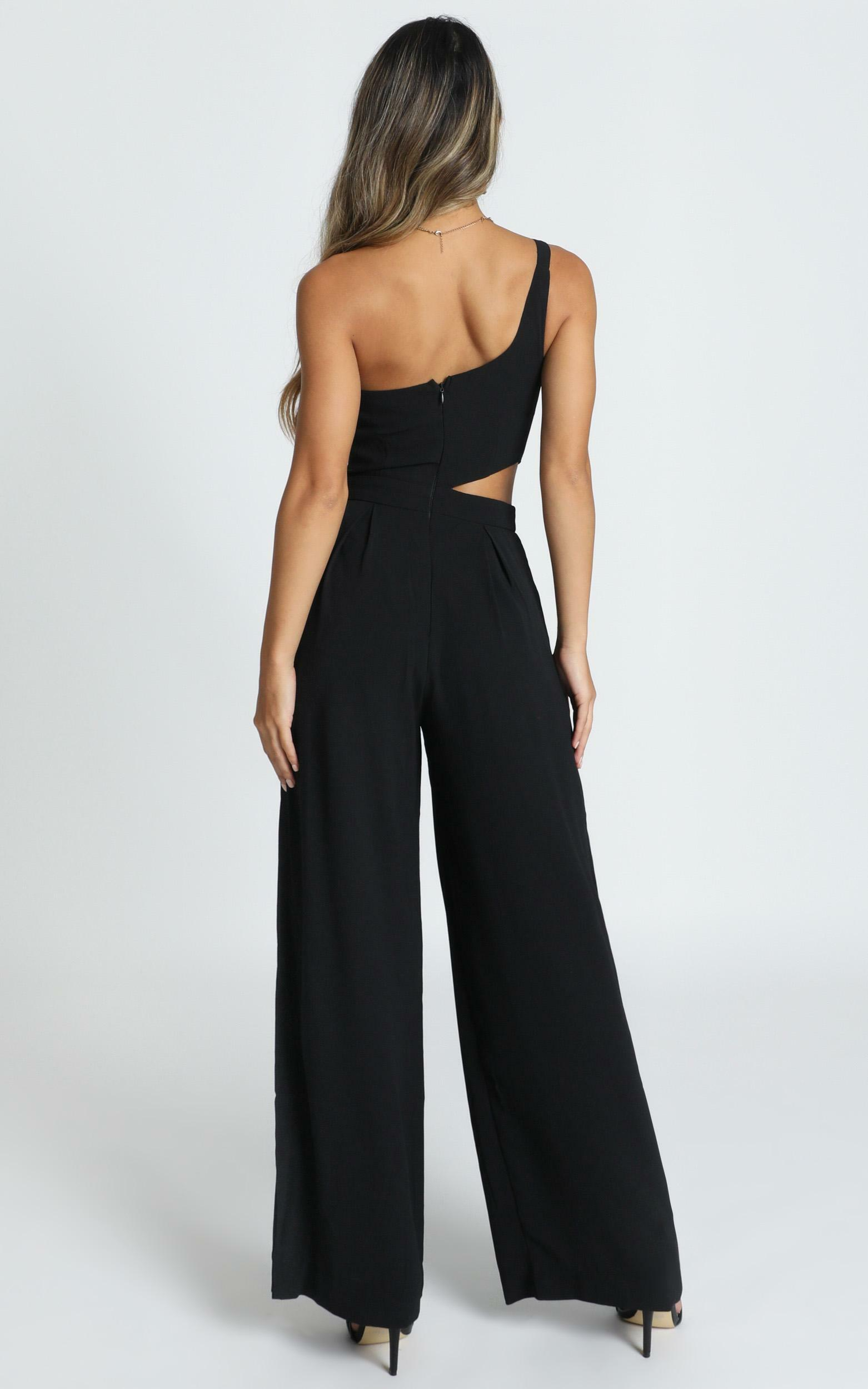 Beautiful Darkness Jumpsuit in black - 14 (XL), Black, hi-res image number null