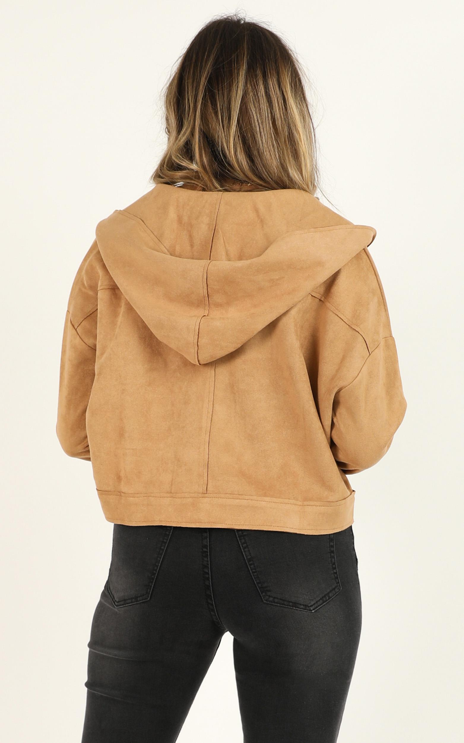 If You Want This jacket in tan - 12 (L), Tan, hi-res image number null