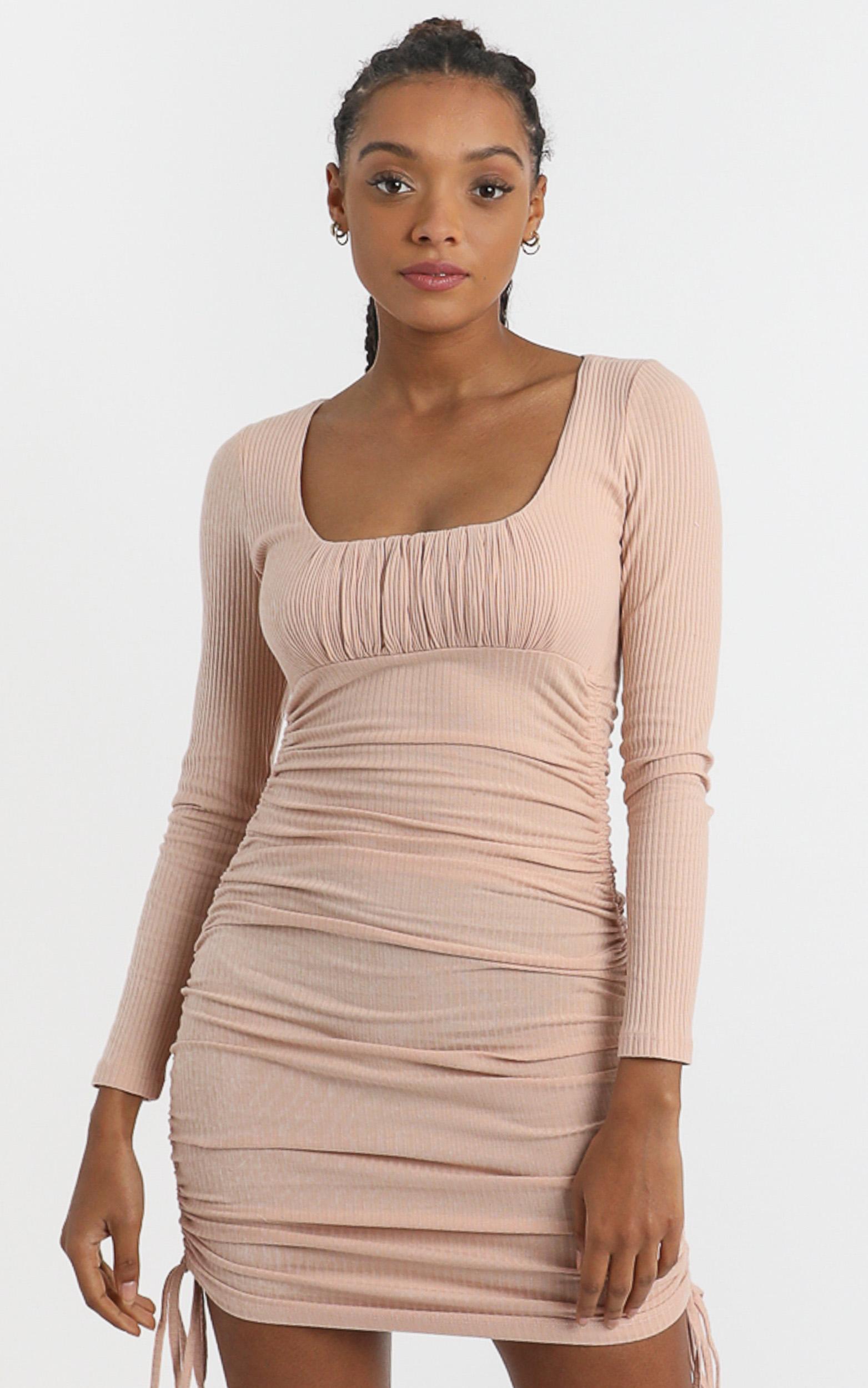 Farris Dress in Blush - 6 (XS), Blush, hi-res image number null
