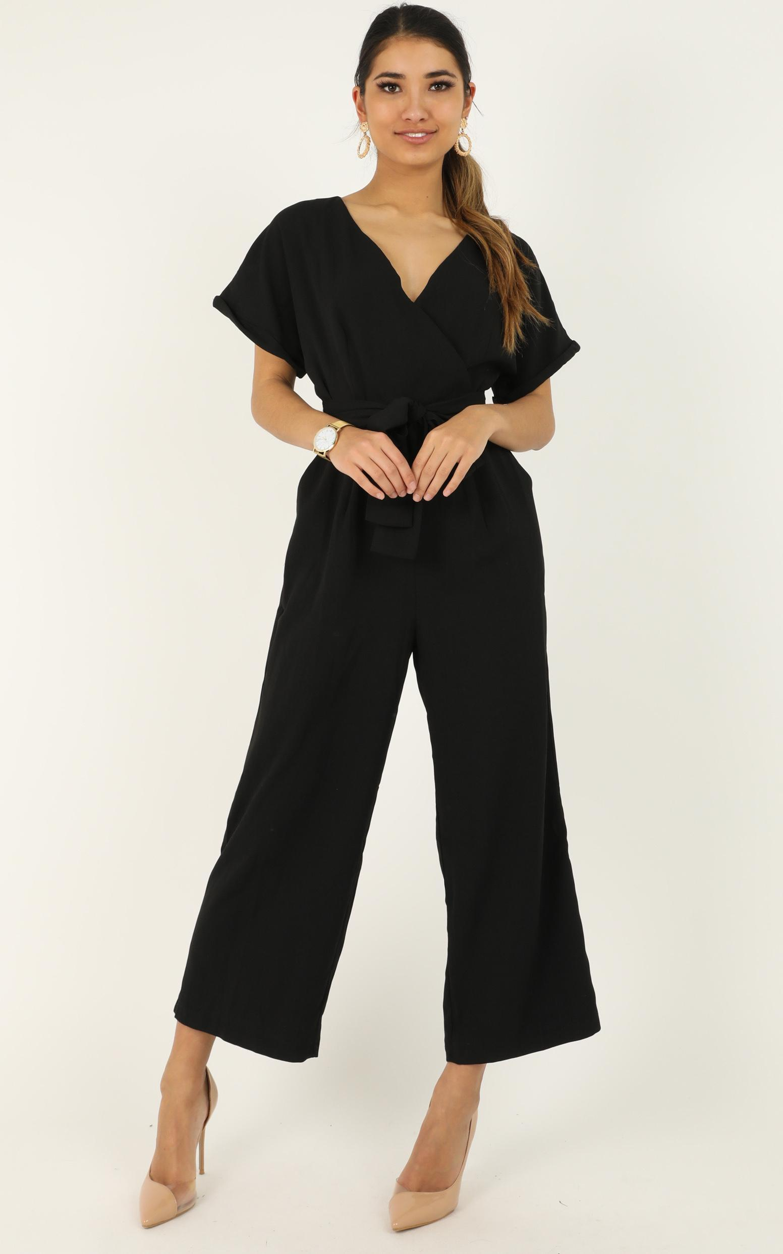 The Champion Jumpsuit in black - 14 (XL), Black, hi-res image number null