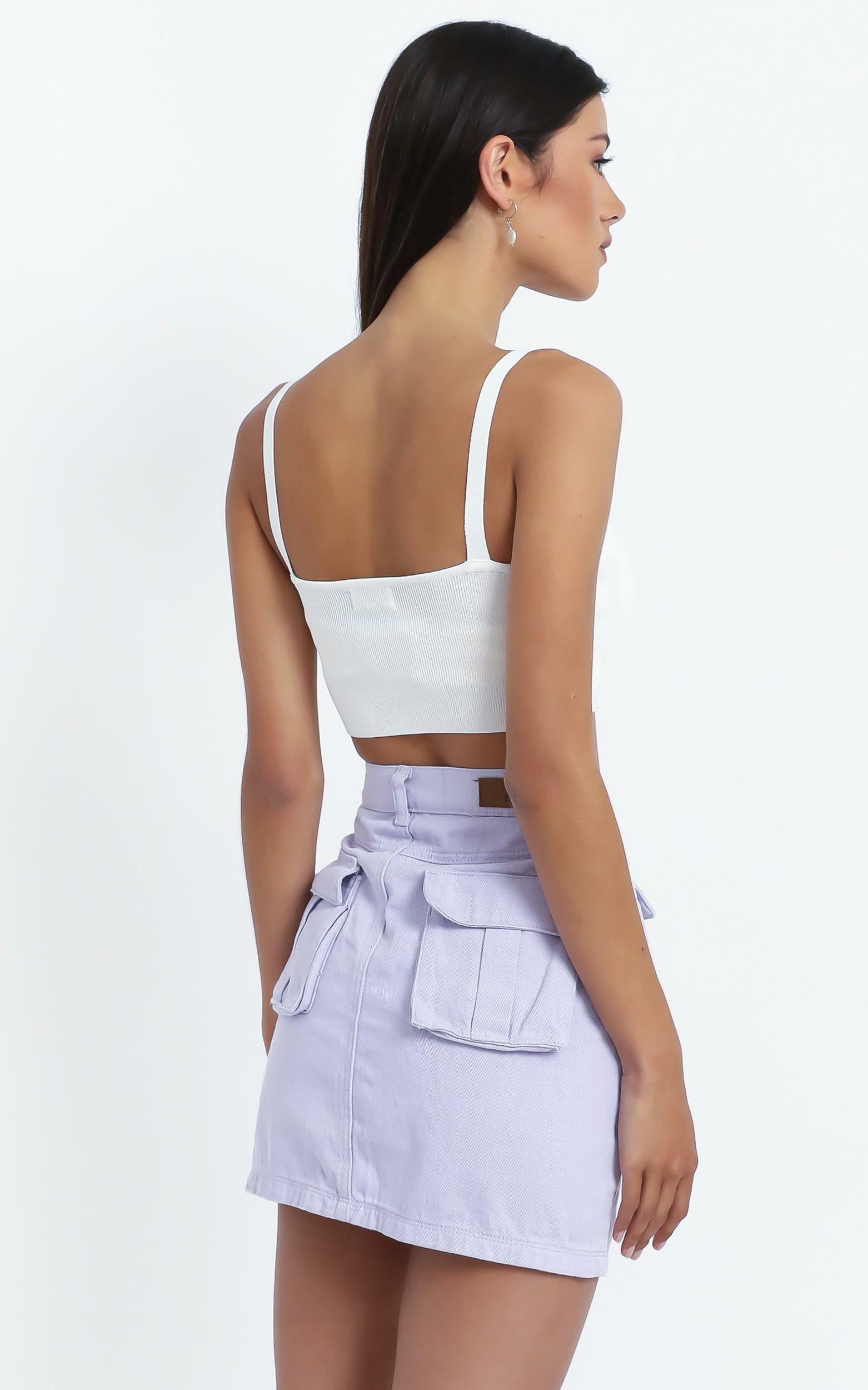Mendez Skirt in Lilac - 14 (XL), PRP3, hi-res image number null