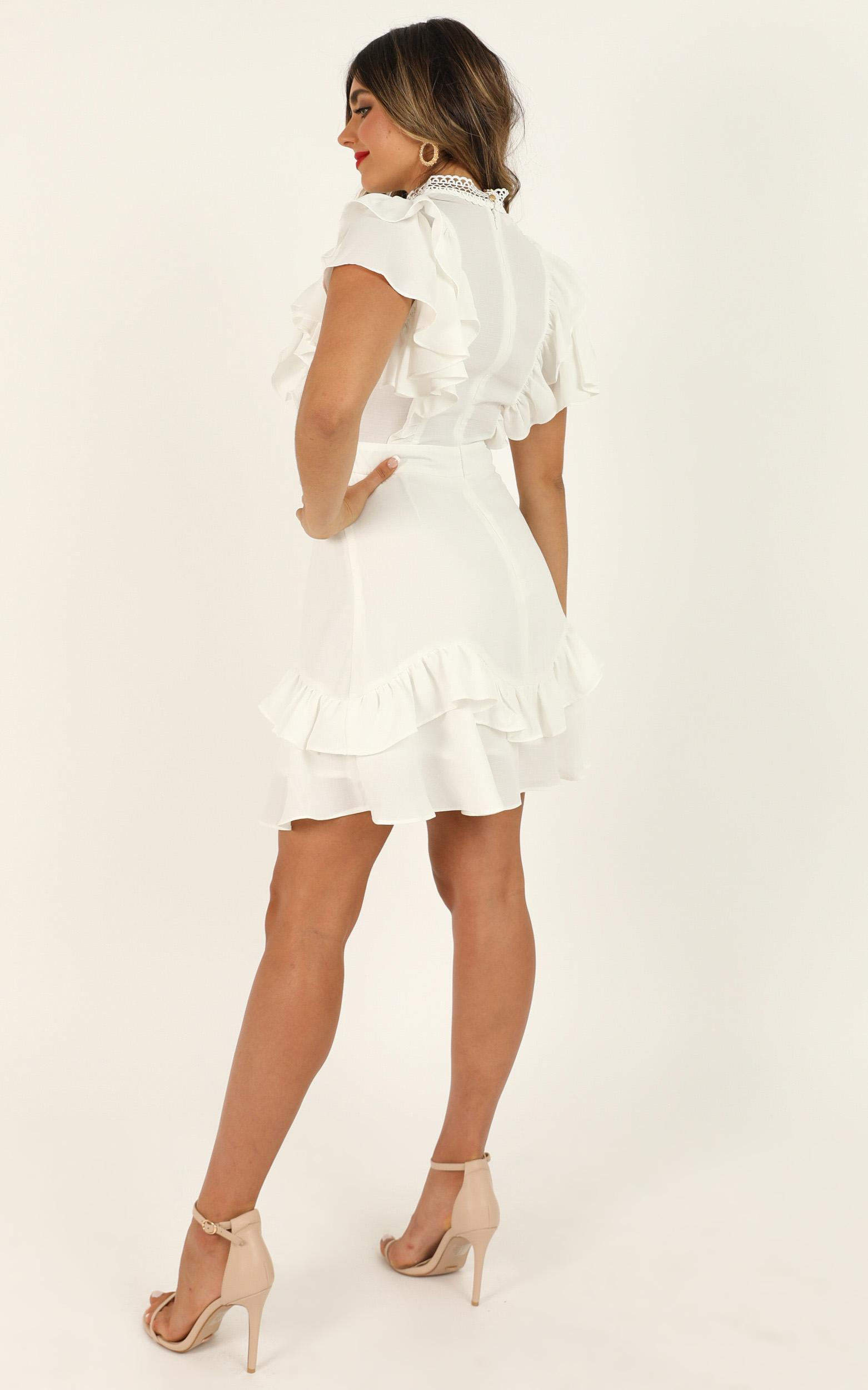 All the Love dress in white - 16 (XXL), White, hi-res image number null