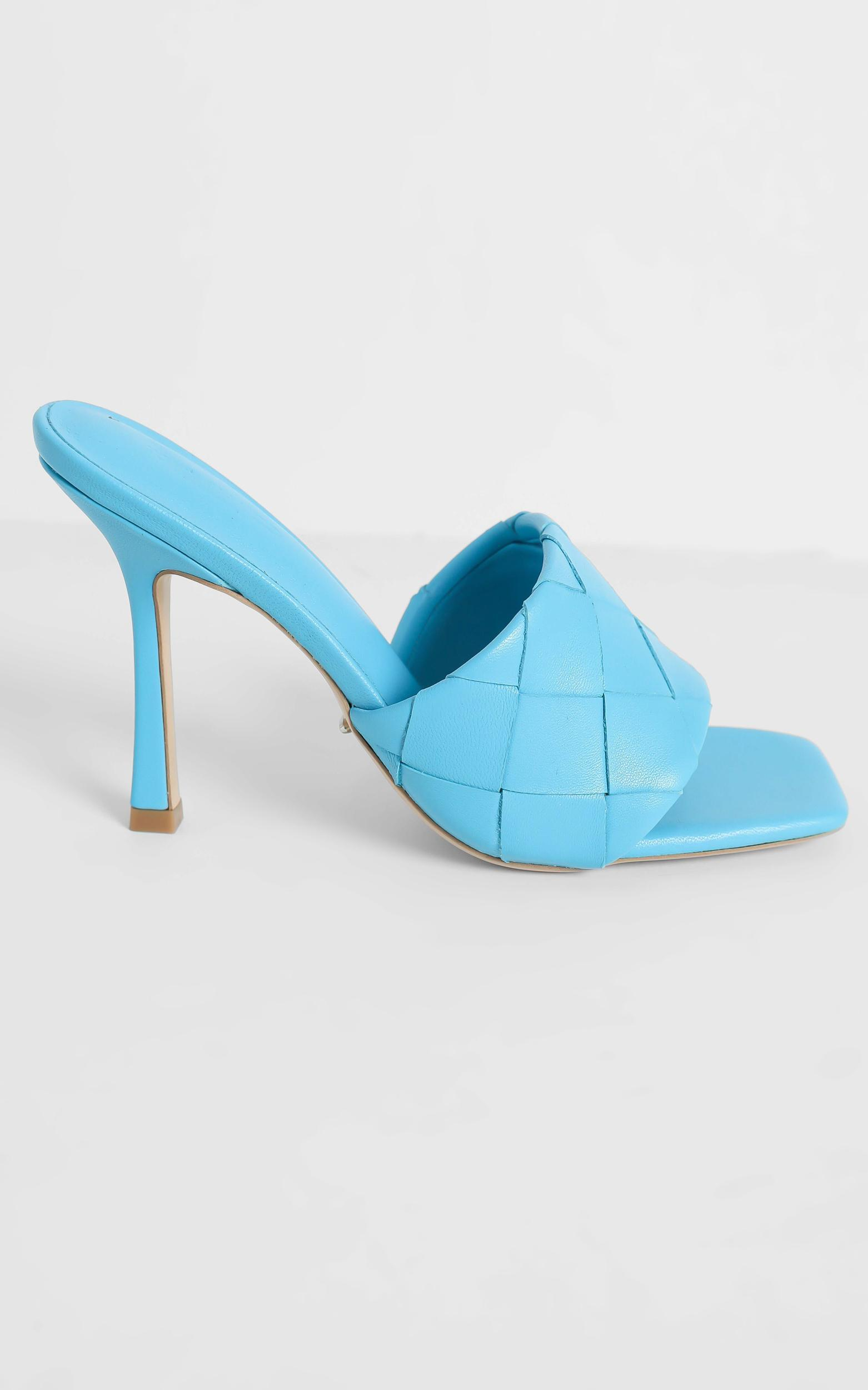 Tony Bianco - Frenzy Heels in Blue Sheep Napa - 5, Blue, hi-res image number null