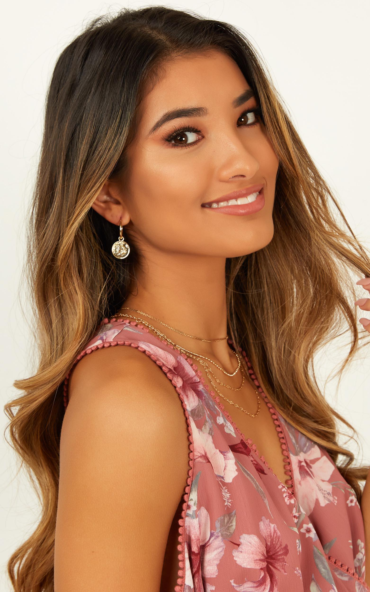 Have It My Way Earrings In Gold, , hi-res image number null