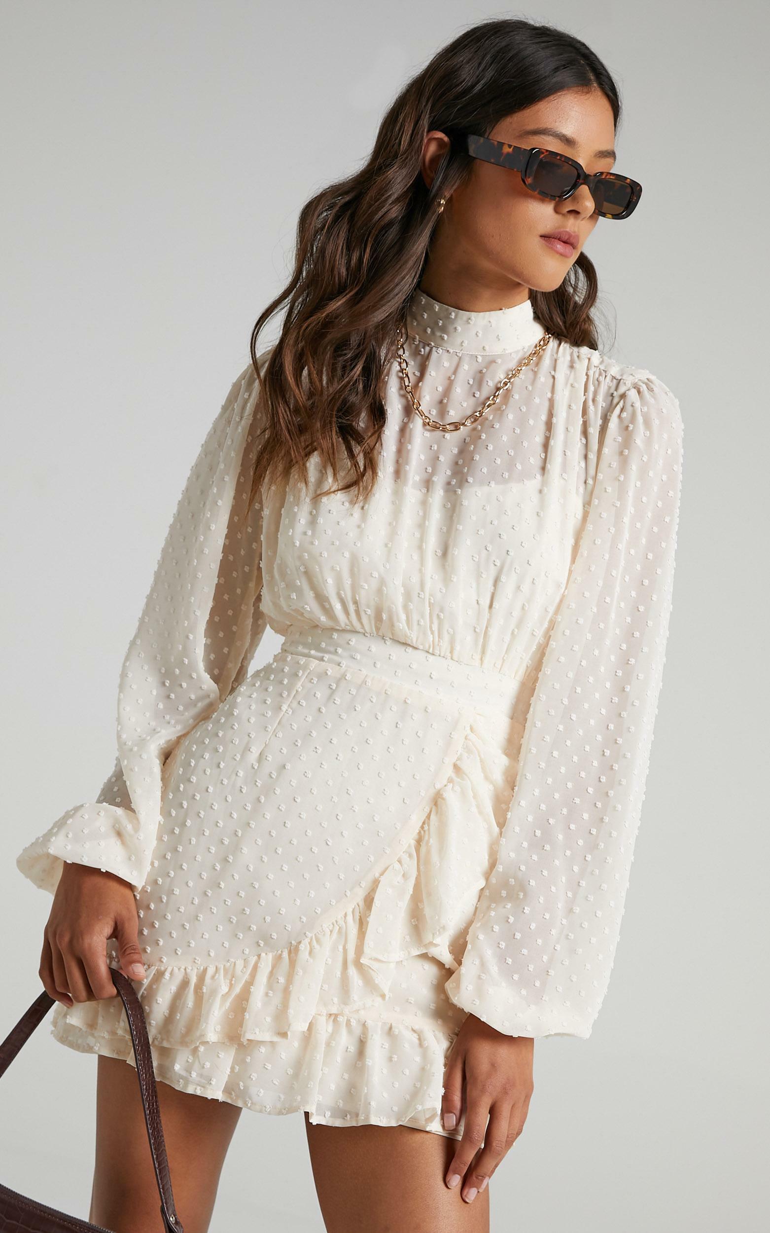 Tiahna Dress in Cream - 04, CRE2, hi-res image number null