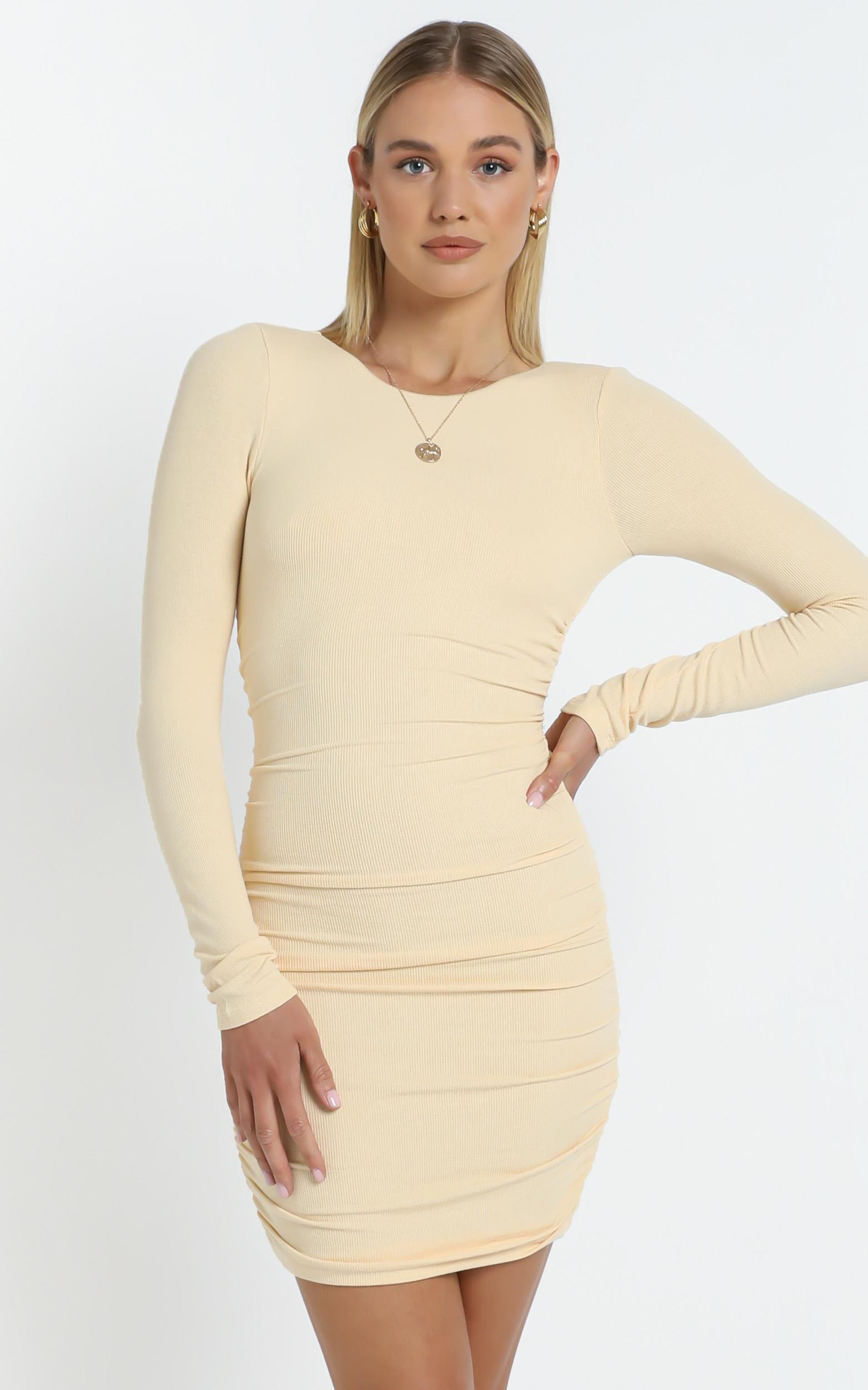 Marcel Dress in Yellow - 12 (L), YEL1, hi-res image number null