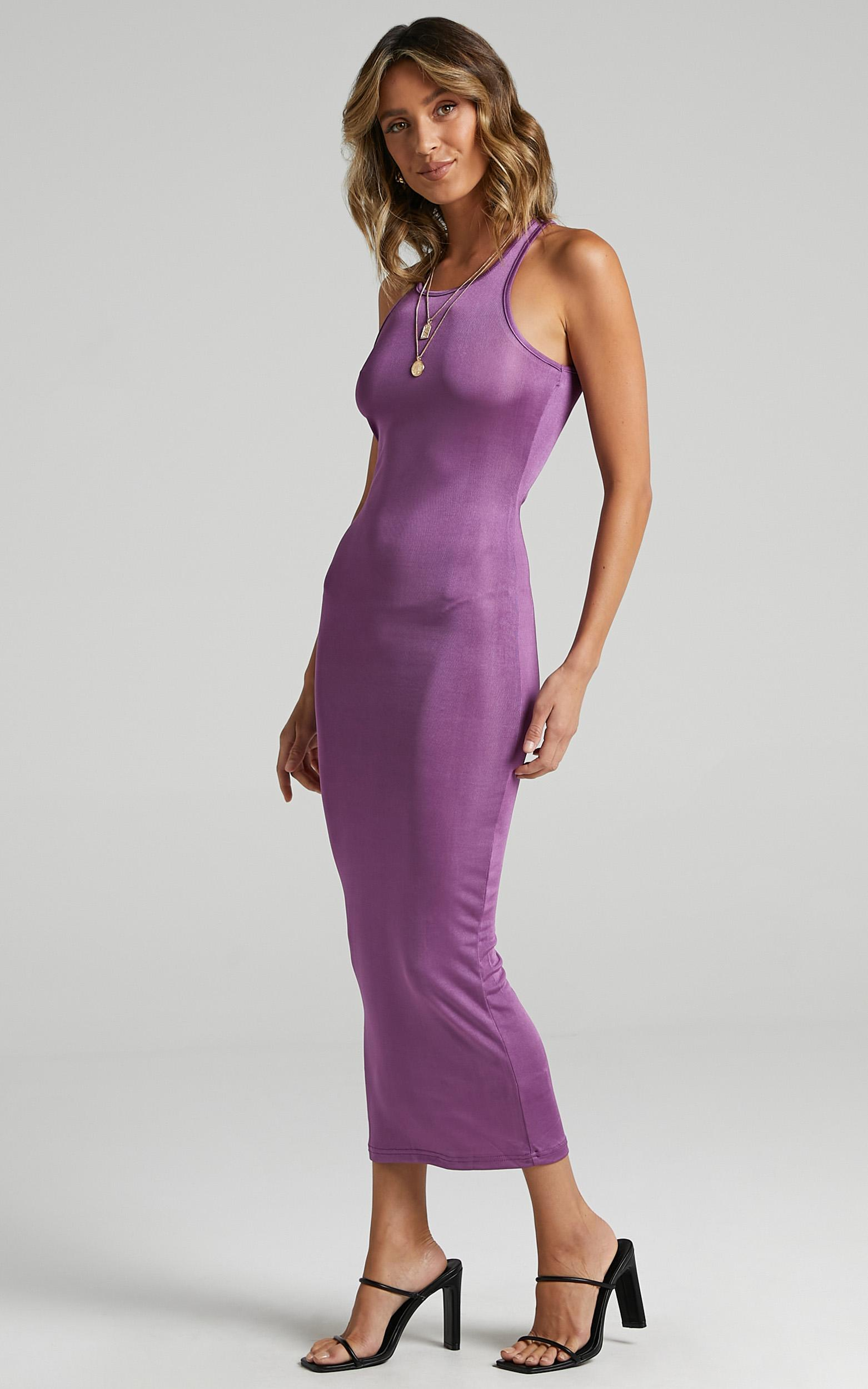 Lioness - Everlast Dress in Dark Orchid - 6 (XS), Purple, hi-res image number null