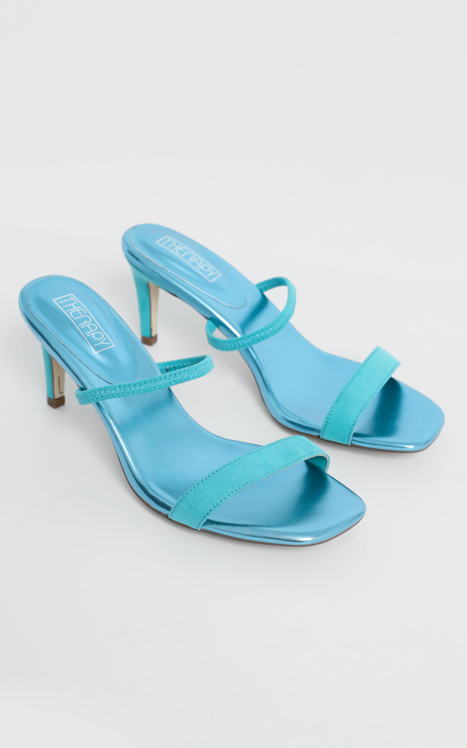 Therapy - Flash Heels in Seafoam - 5, Blue, hi-res image number null