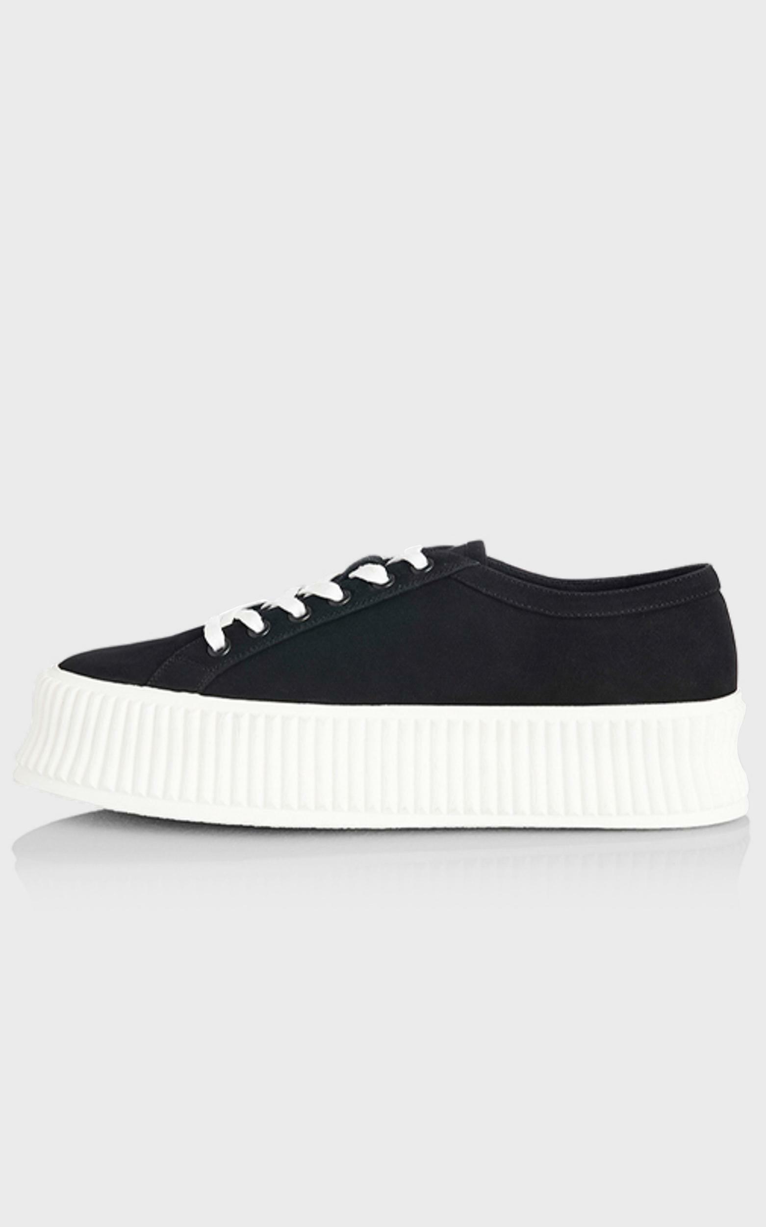 Alias Mae - Adelaide Sneakers in Black Nubuck - 5.5, BLK1, hi-res image number null