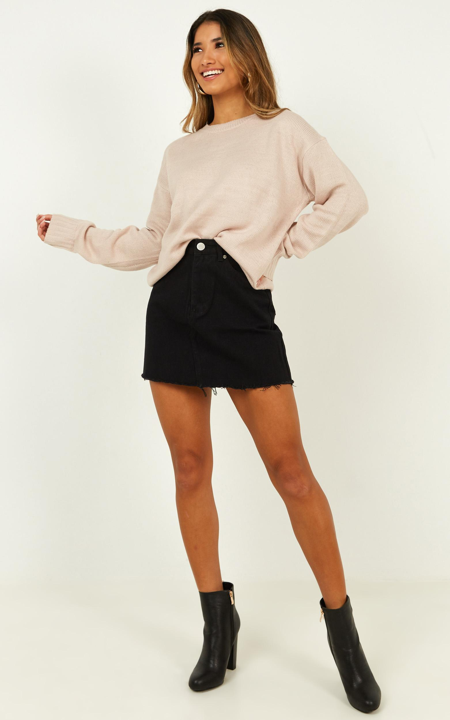 Candied Knit Jumpers in blush - 12 (L), Blush, hi-res image number null