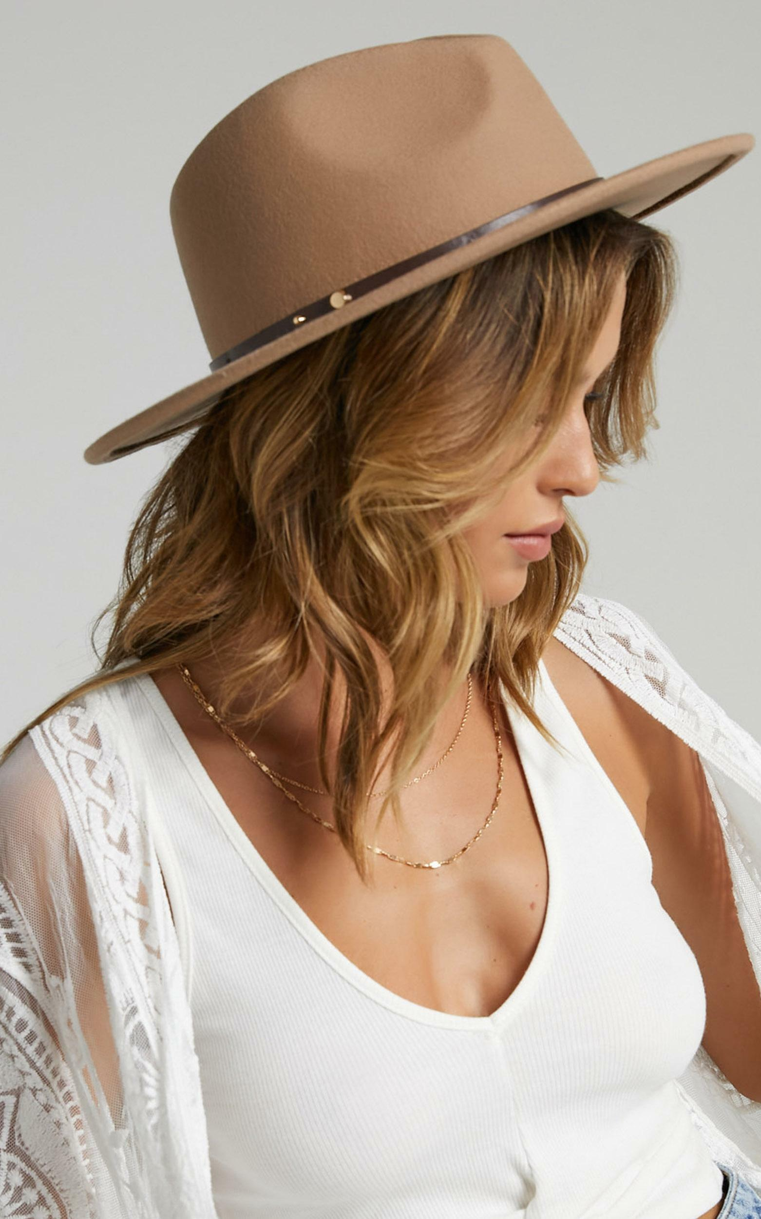 Ace of Something - Oslo Hat in Golden Sand, BRN4, hi-res image number null