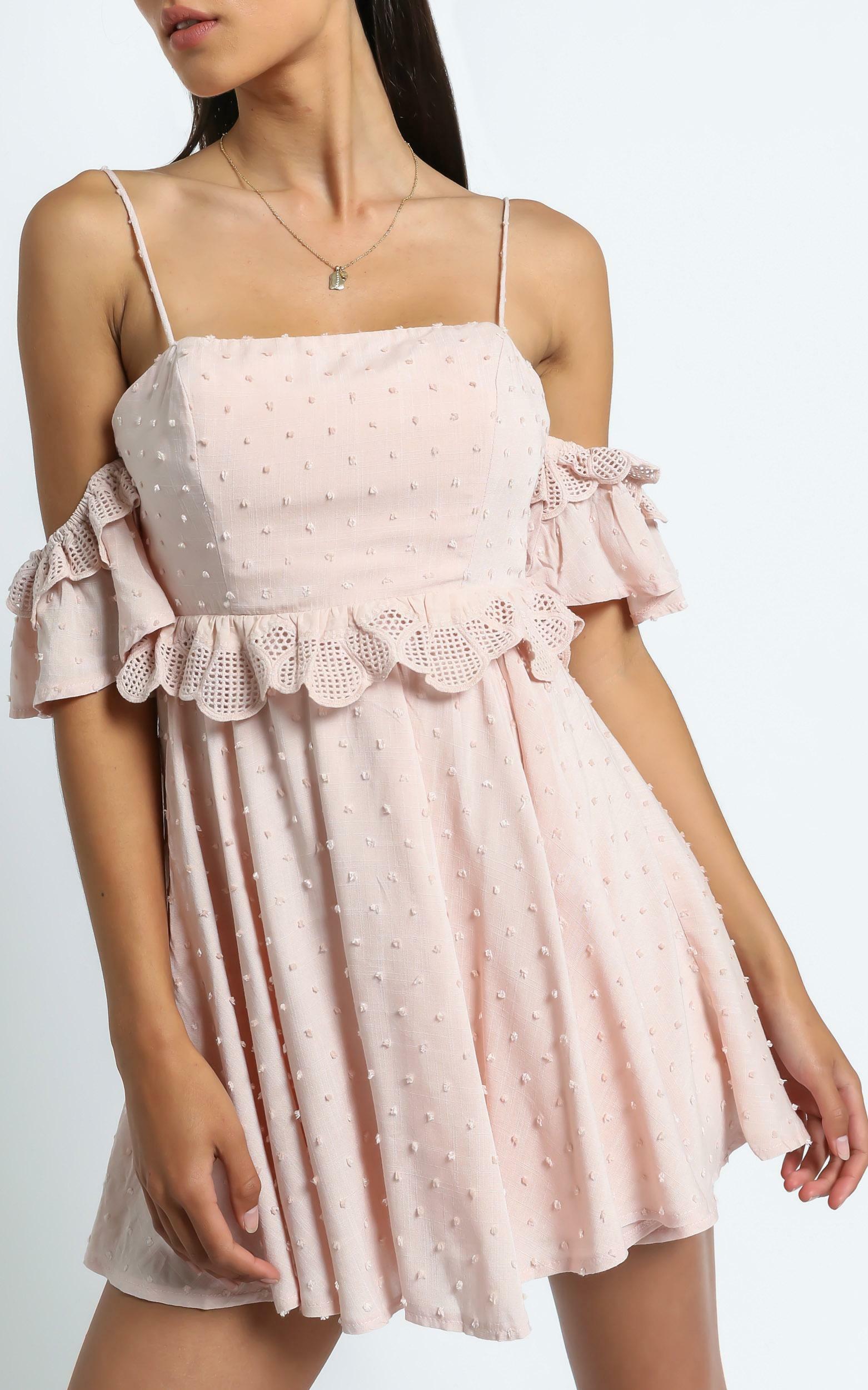 Ziggy Dress in Blush - 6 (XS), Blush, hi-res image number null