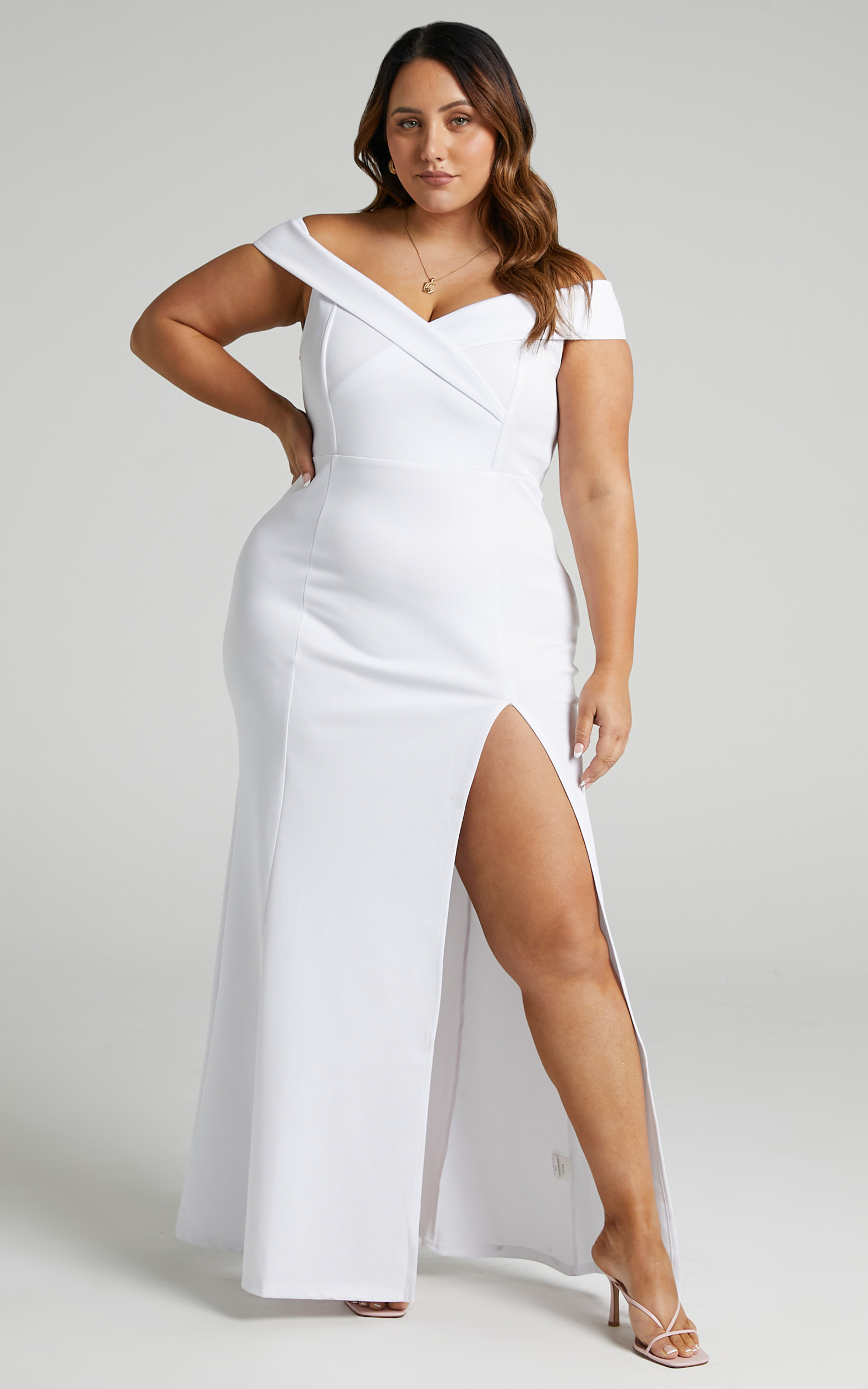 One For The Money Dress in White - 20, WHT3, hi-res image number null