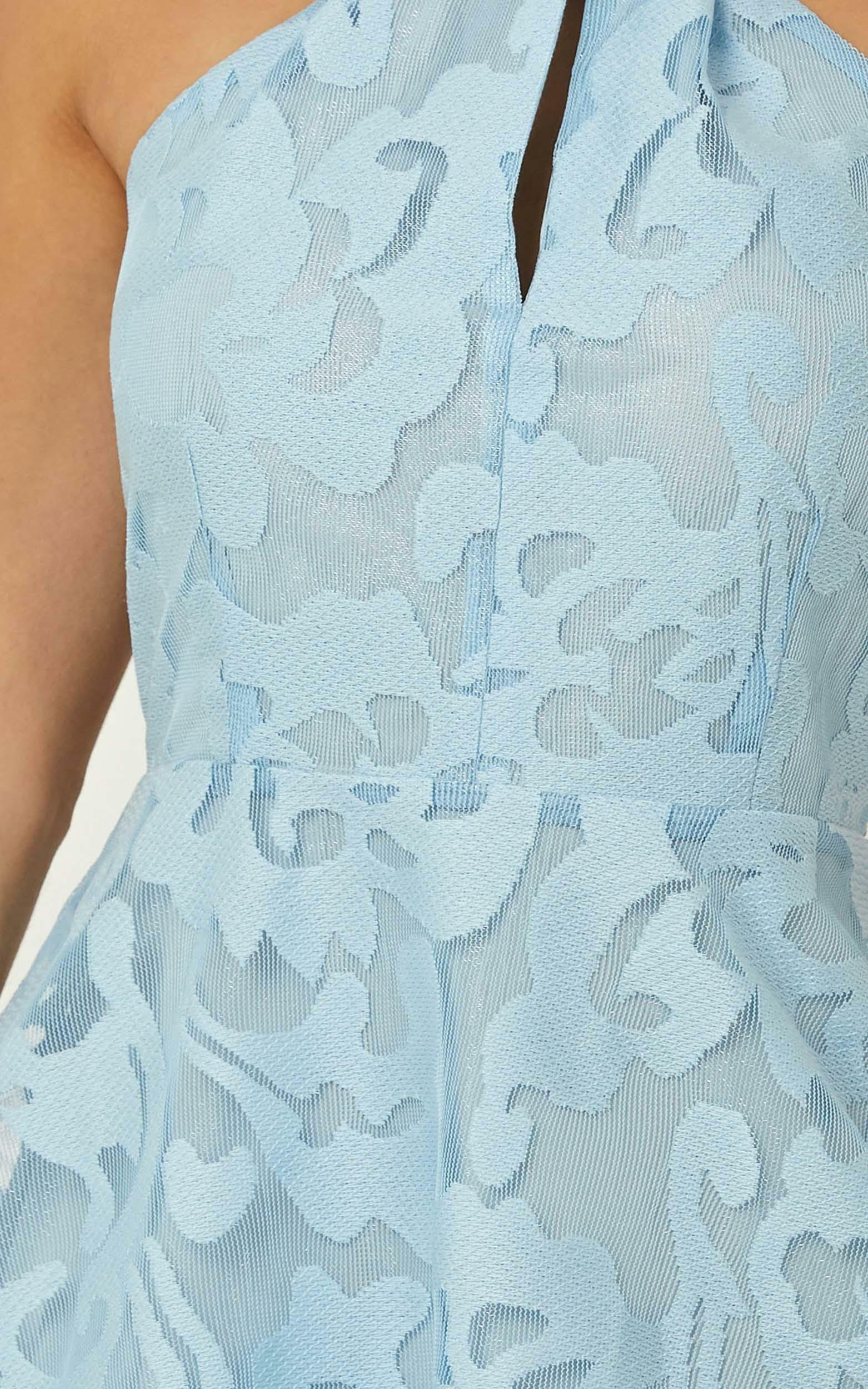 Two worlds apart dress in blue - 20 (XXXXL), Blue, hi-res image number null