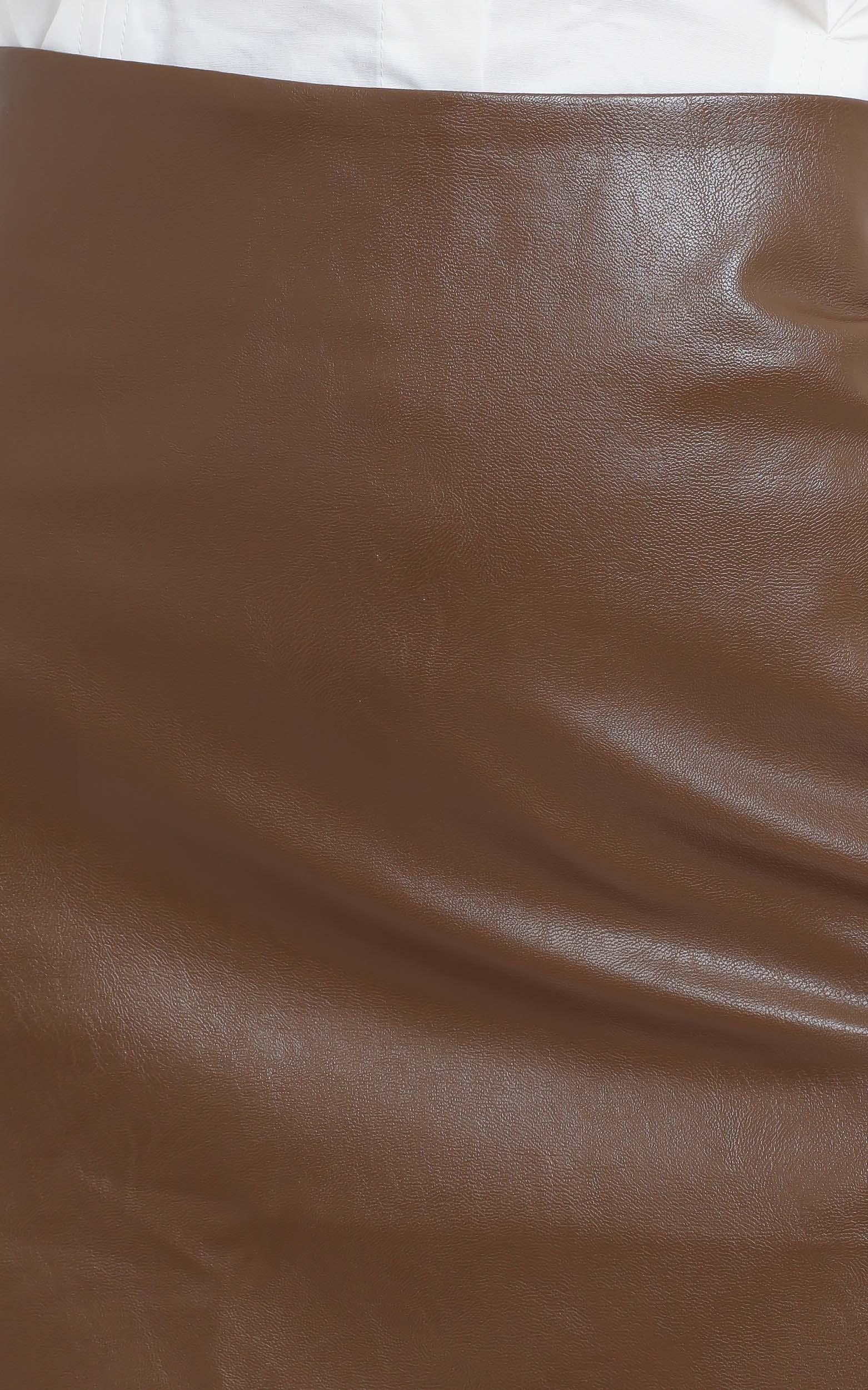 In The Name Of Love Skirt in Chocolate - 16 (XXL), Brown, hi-res image number null