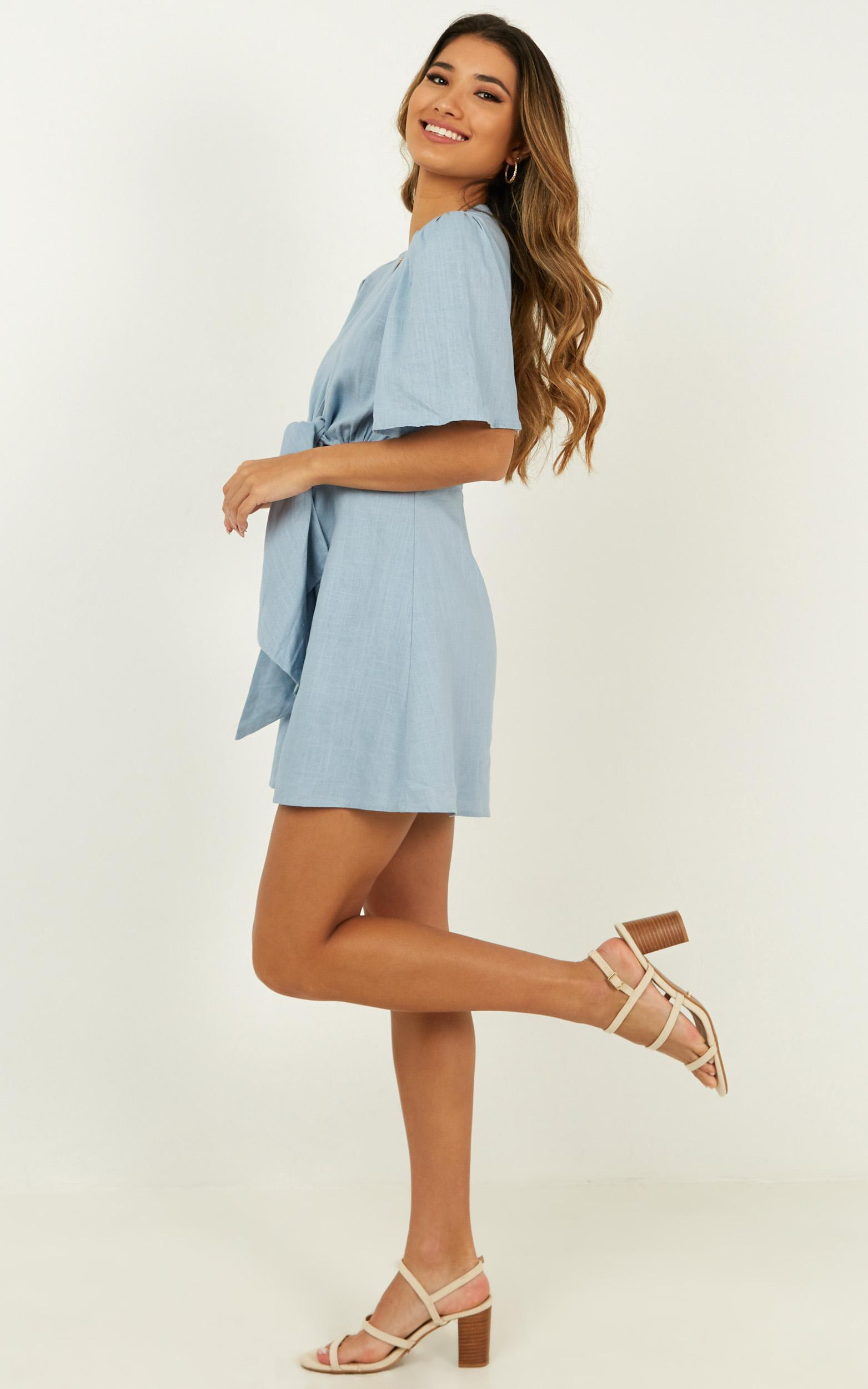 Summer Valley Dress in blue - 20 (XXXXL), Blue, hi-res image number null