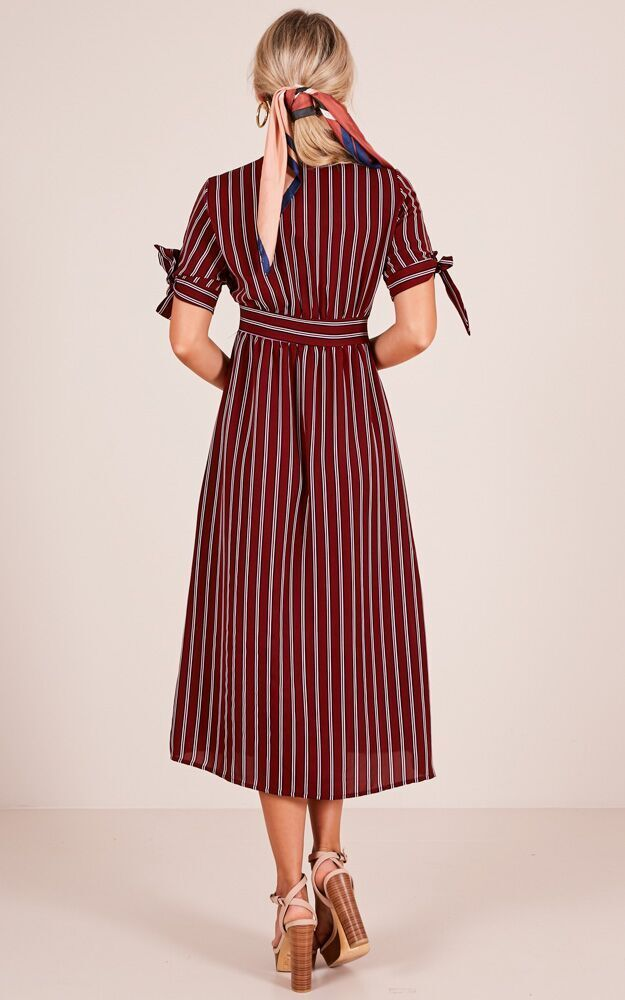 For The Best dress in wine - 12 (L), Wine, hi-res image number null