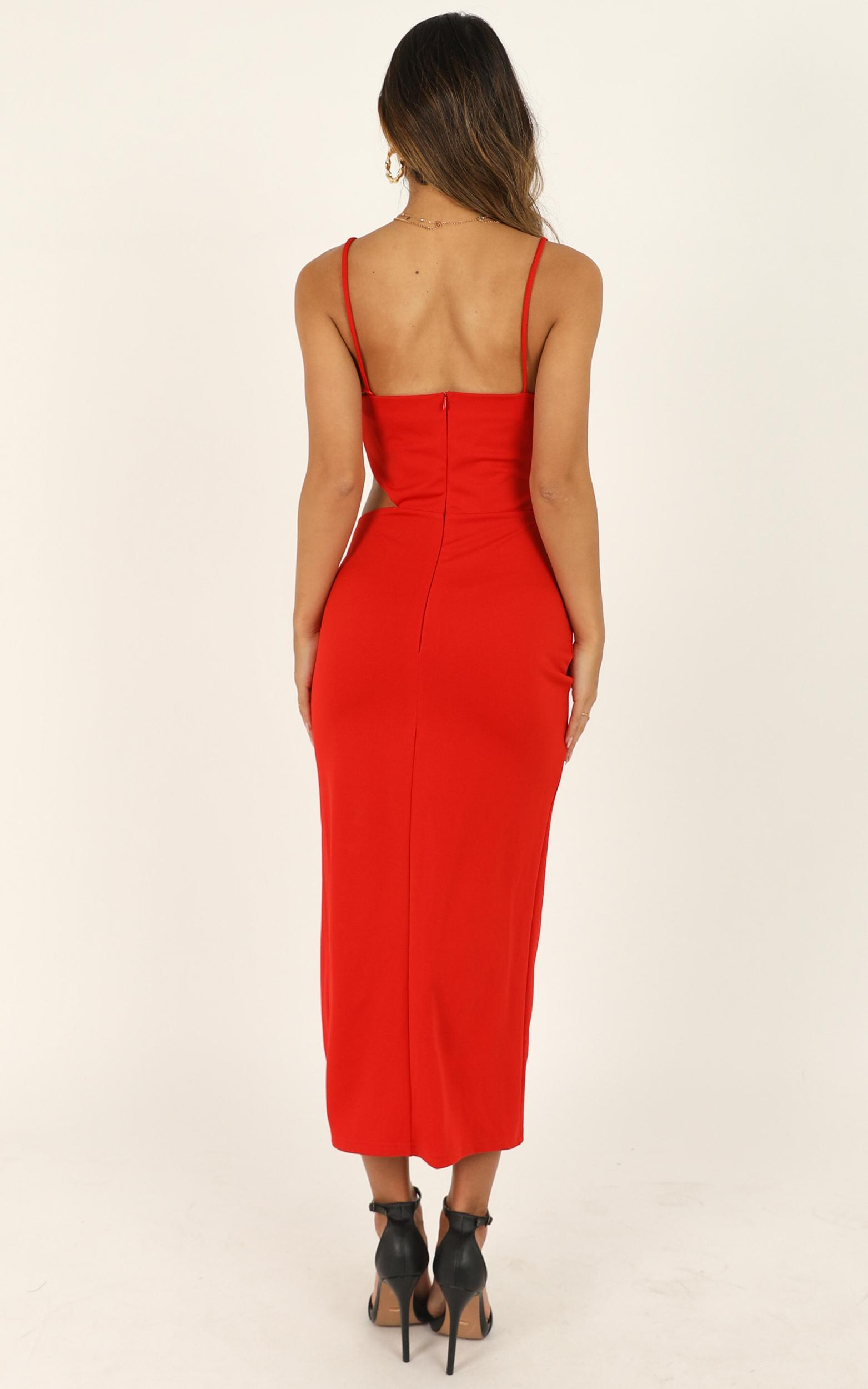 Take Your Time dress in red - 10 (M), Red, hi-res image number null
