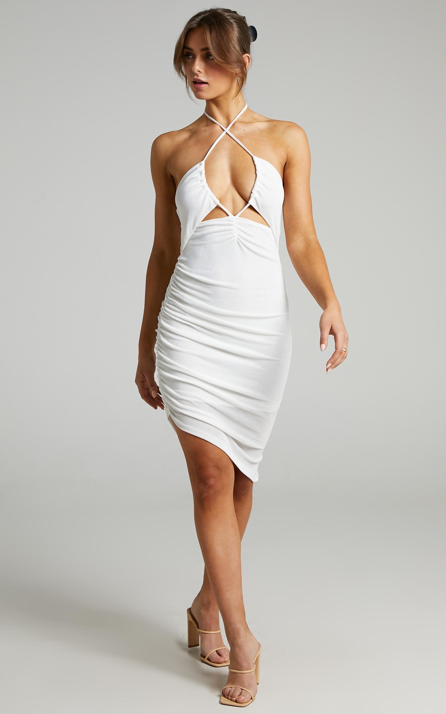 SNDYS - Paris Dress in White - L, WHT1, hi-res image number null
