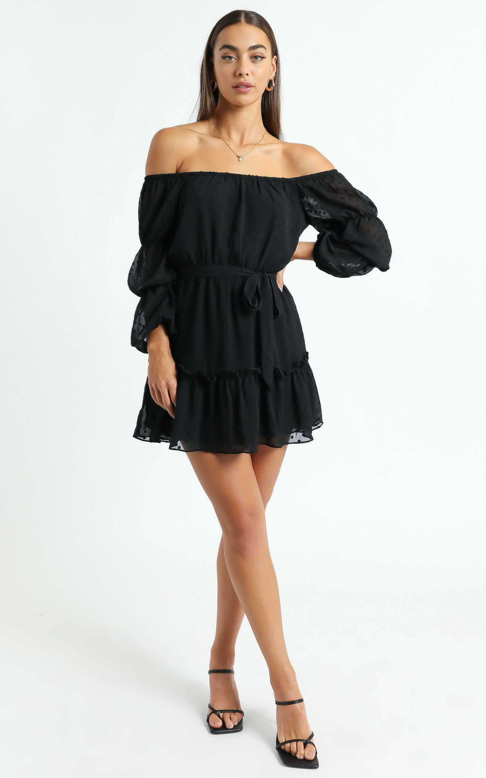 Party Life Dress in Black - 6 (XS), Black, hi-res image number null