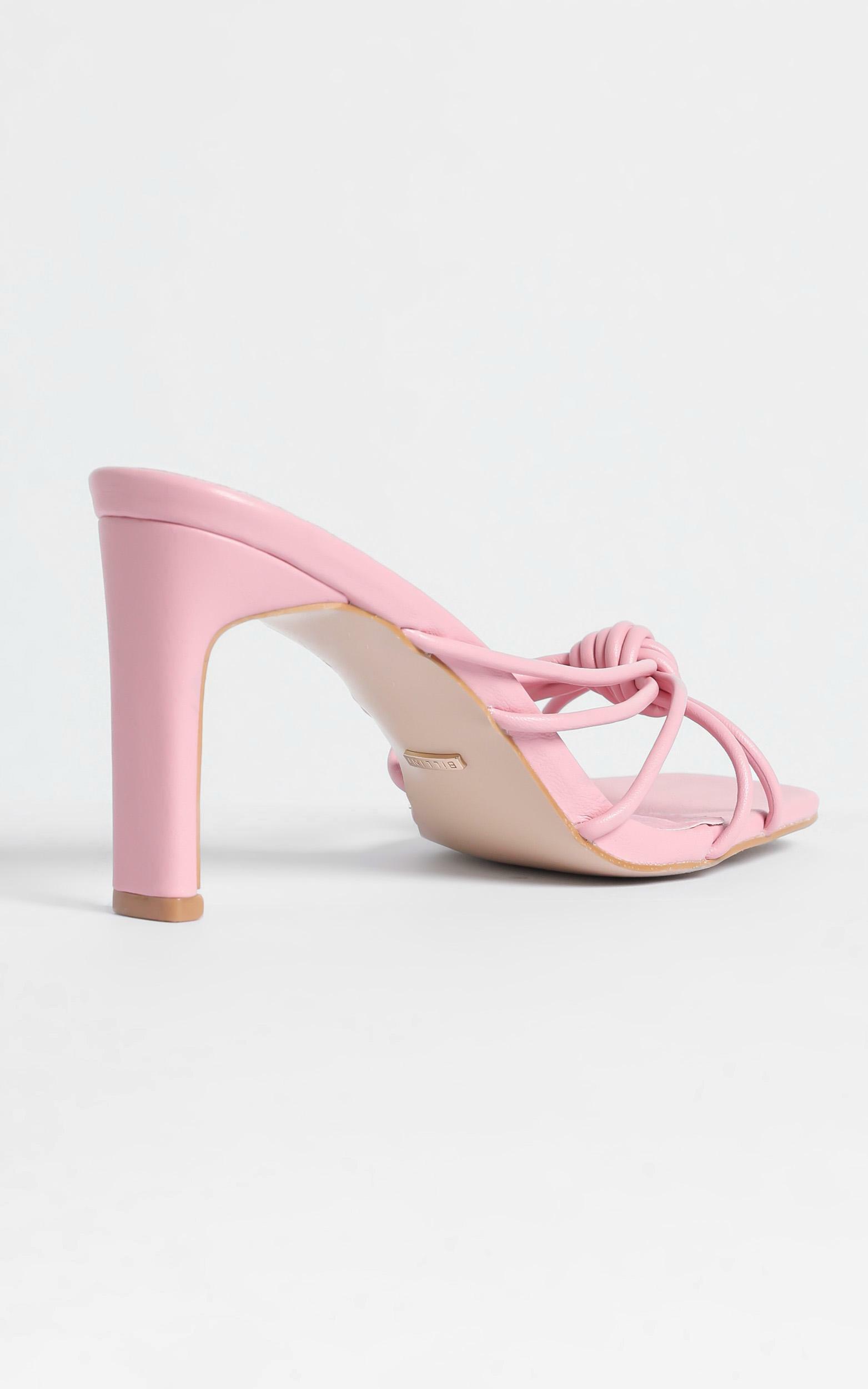Billini - Posse Heels in Watermelon - 5, Pink, hi-res image number null