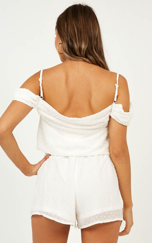Up In The Air Playsuit in white - 12 (L), White, hi-res image number null