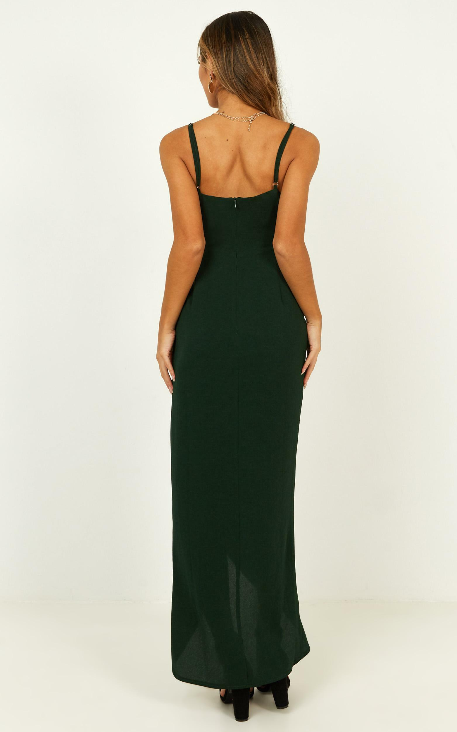 Gave Me You Dress in emerald - 14 (XL), Green, hi-res image number null
