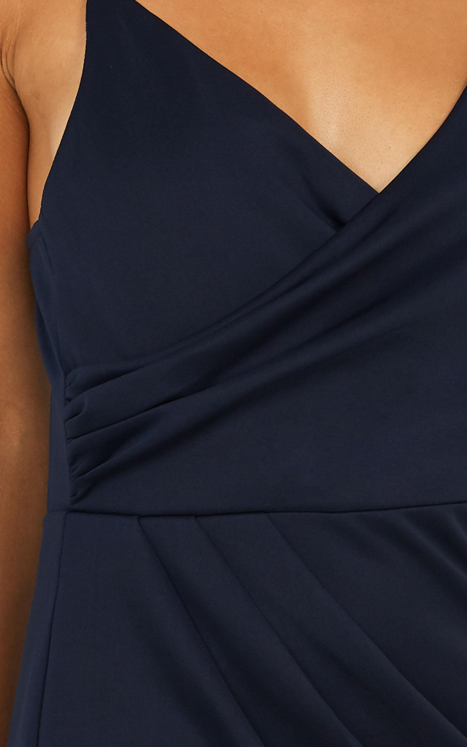 Linking Love Maxi Dress In Navy - 4 (XXS), Navy, hi-res image number null
