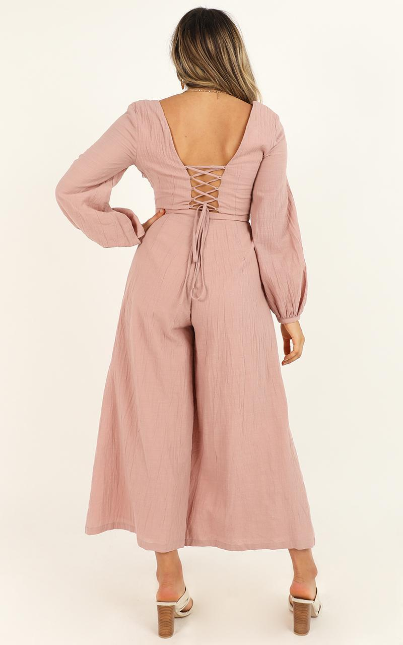 living well Jumpsuit in dusty blush - 20 (XXXXL), Blush, hi-res image number null