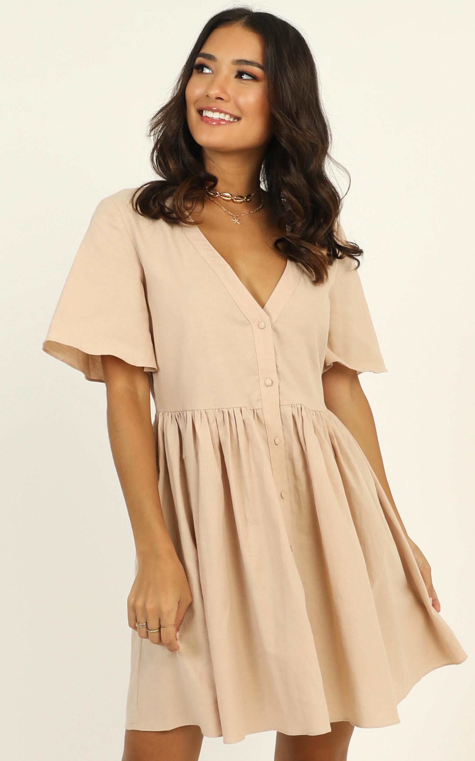 Staycation Dress in beige - 20 (XXXXL), Beige, hi-res image number null