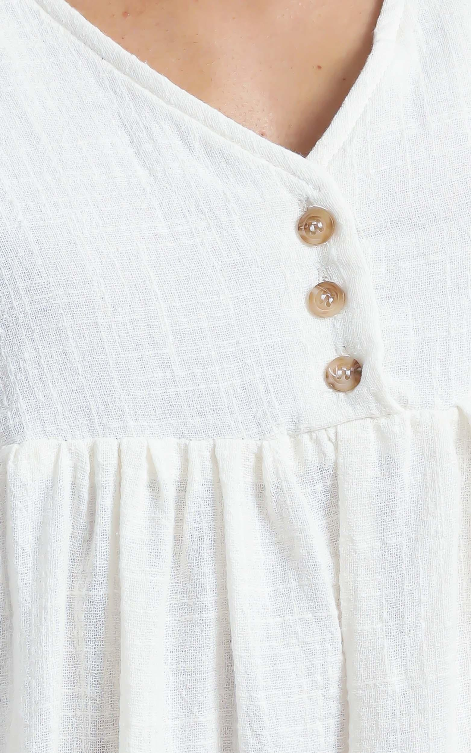Coraline Dress in White - 12 (L), White, hi-res image number null