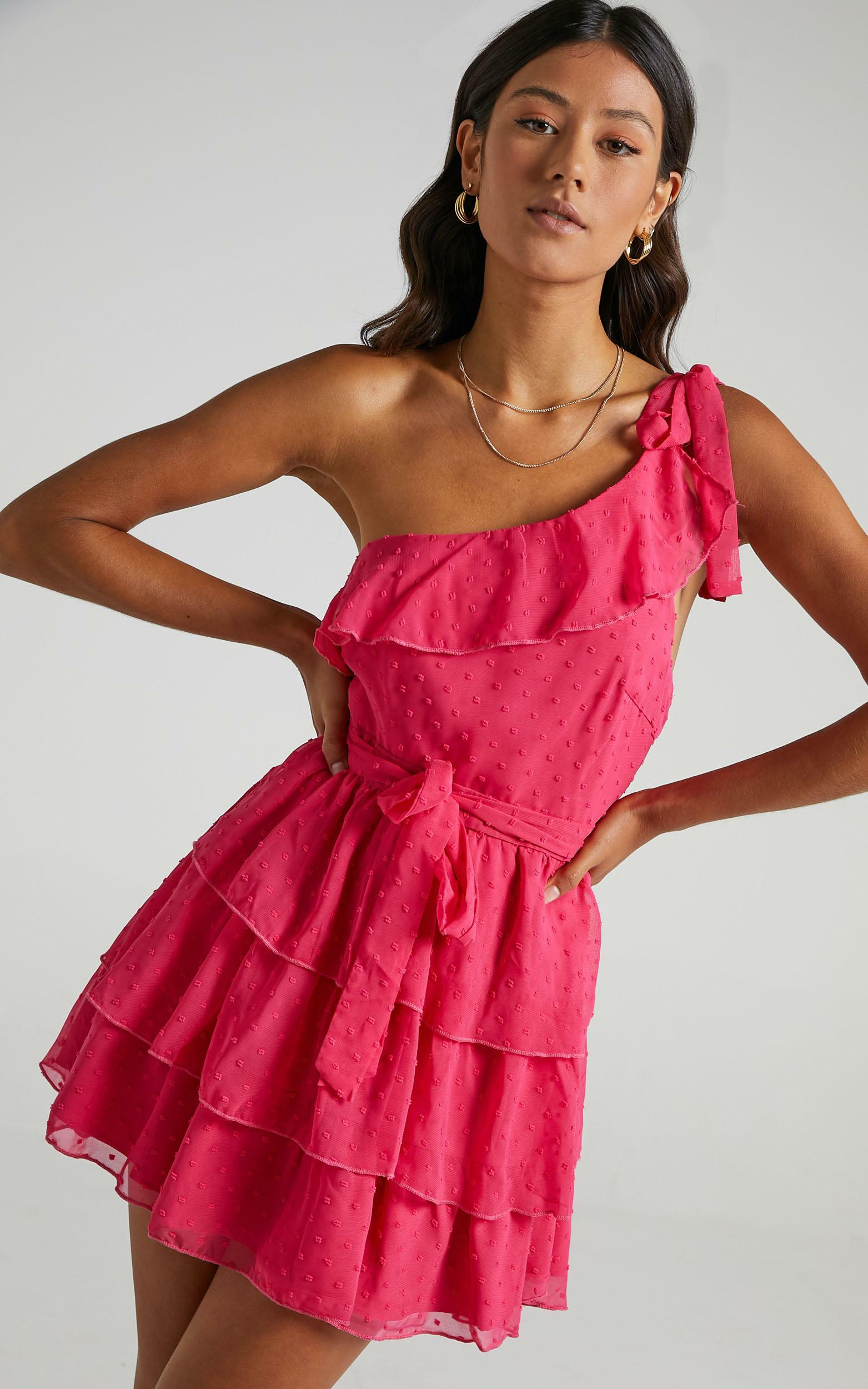 Darling I Am A Daydream Dress in Hot Pink - 16, PNK6, hi-res image number null