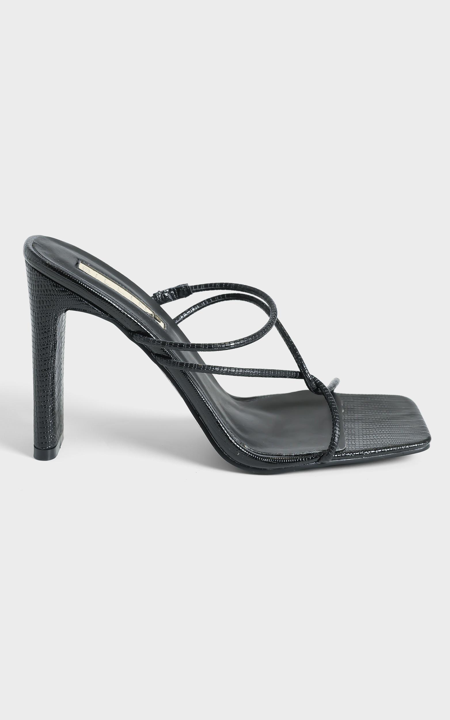 Billini - Emmah Heels in Black Scale - 05, BLK1, hi-res image number null