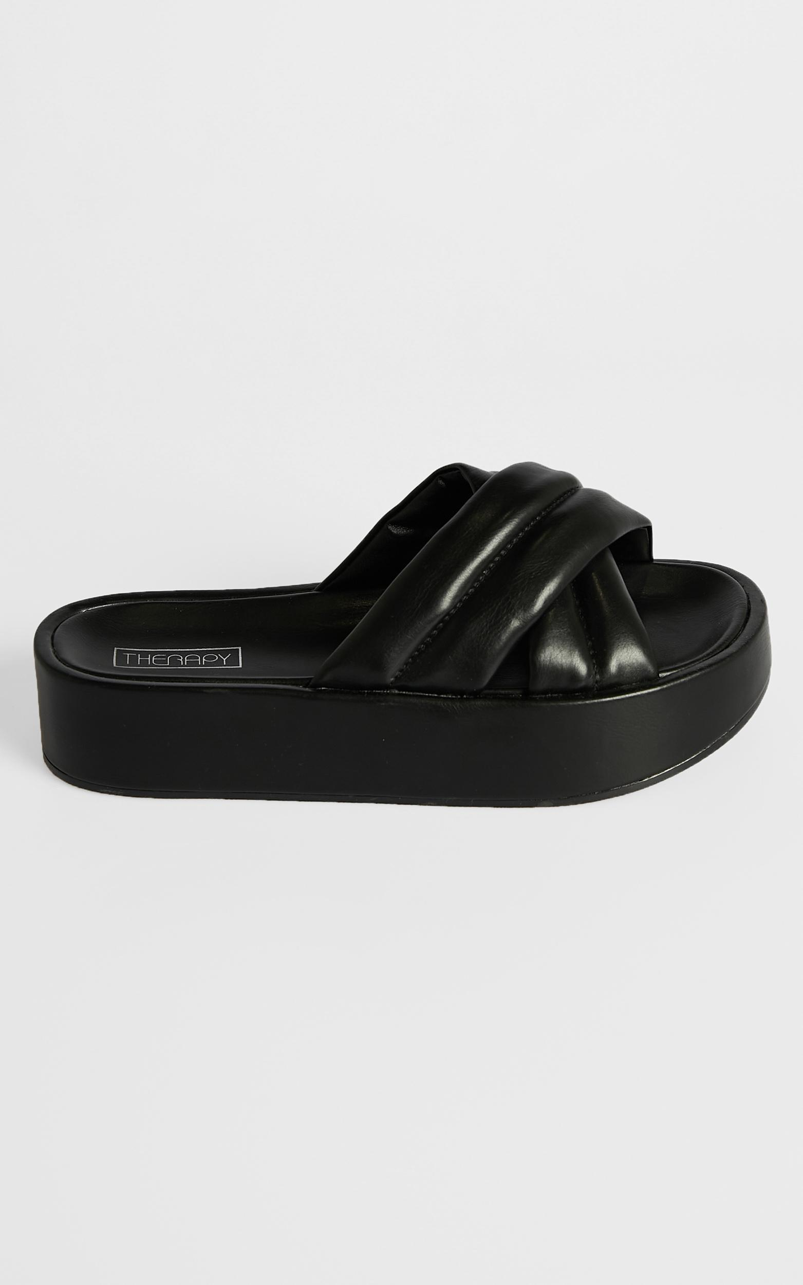 Therapy - Heir Slides in Black - 5, Black, hi-res image number null