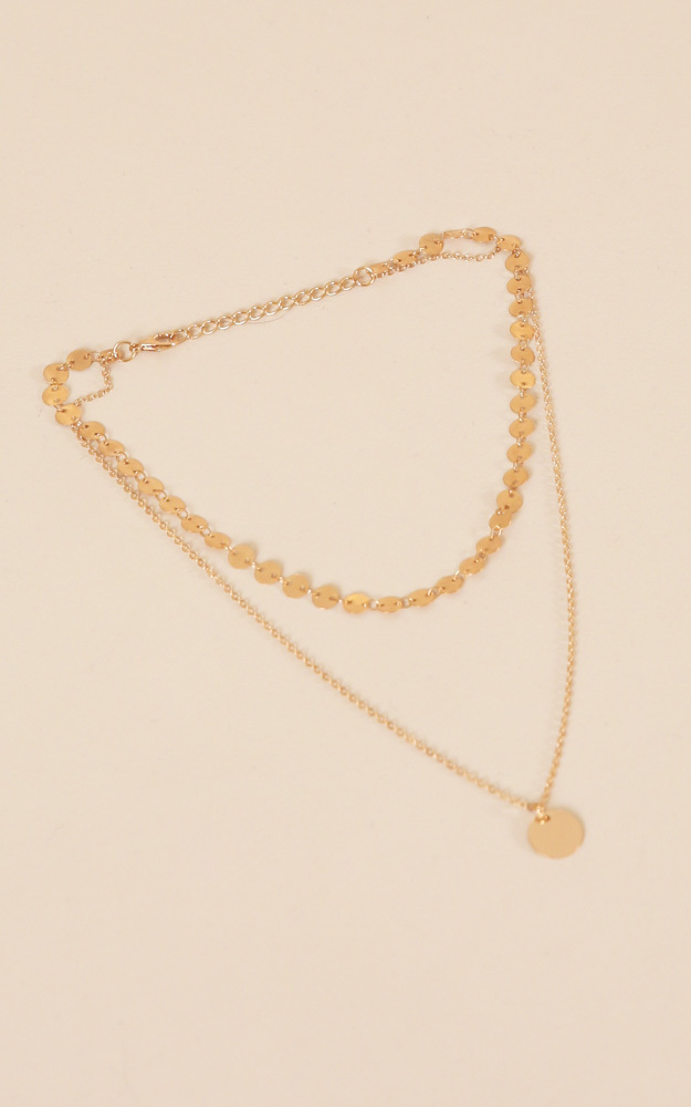 Miami Nights Necklace in Gold, , hi-res image number null