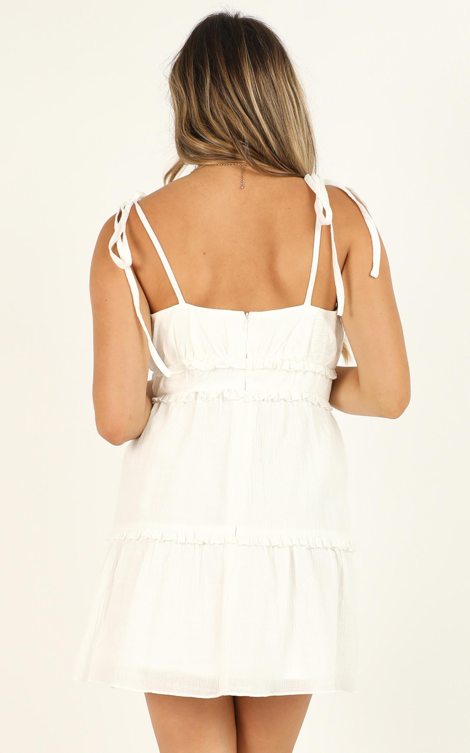 No Therapy Needed Dress in white - 16 (XXL), White, hi-res image number null