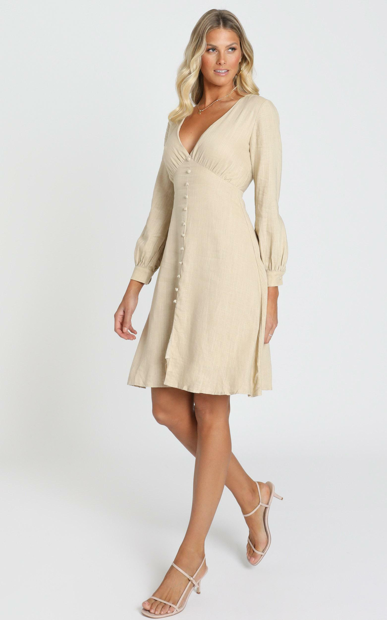 Viewed From a far Dress in beige - 20 (XXXXL), Beige, hi-res image number null