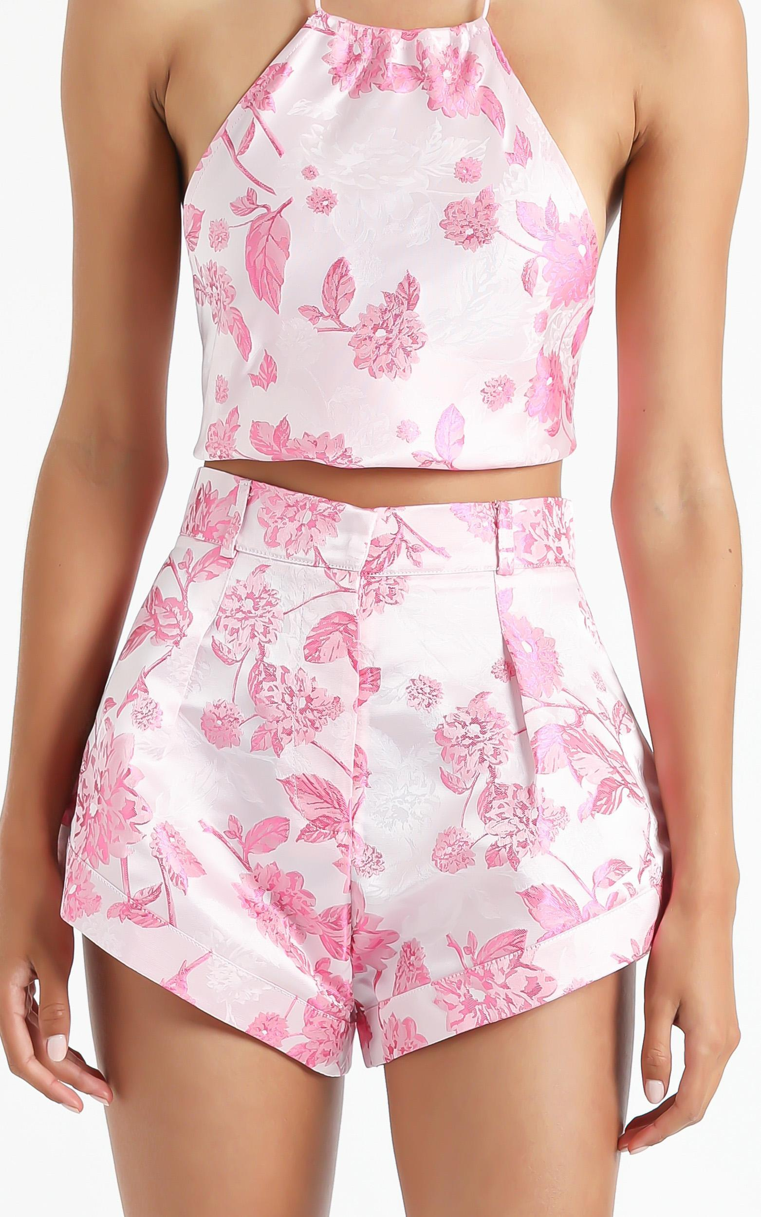 Lioness - In Bloom Mini Short in Pink - XS, Pink, hi-res image number null
