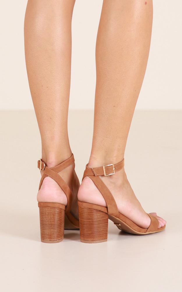 Billini - Carlina Heels in tan micro - 5, Tan, hi-res image number null