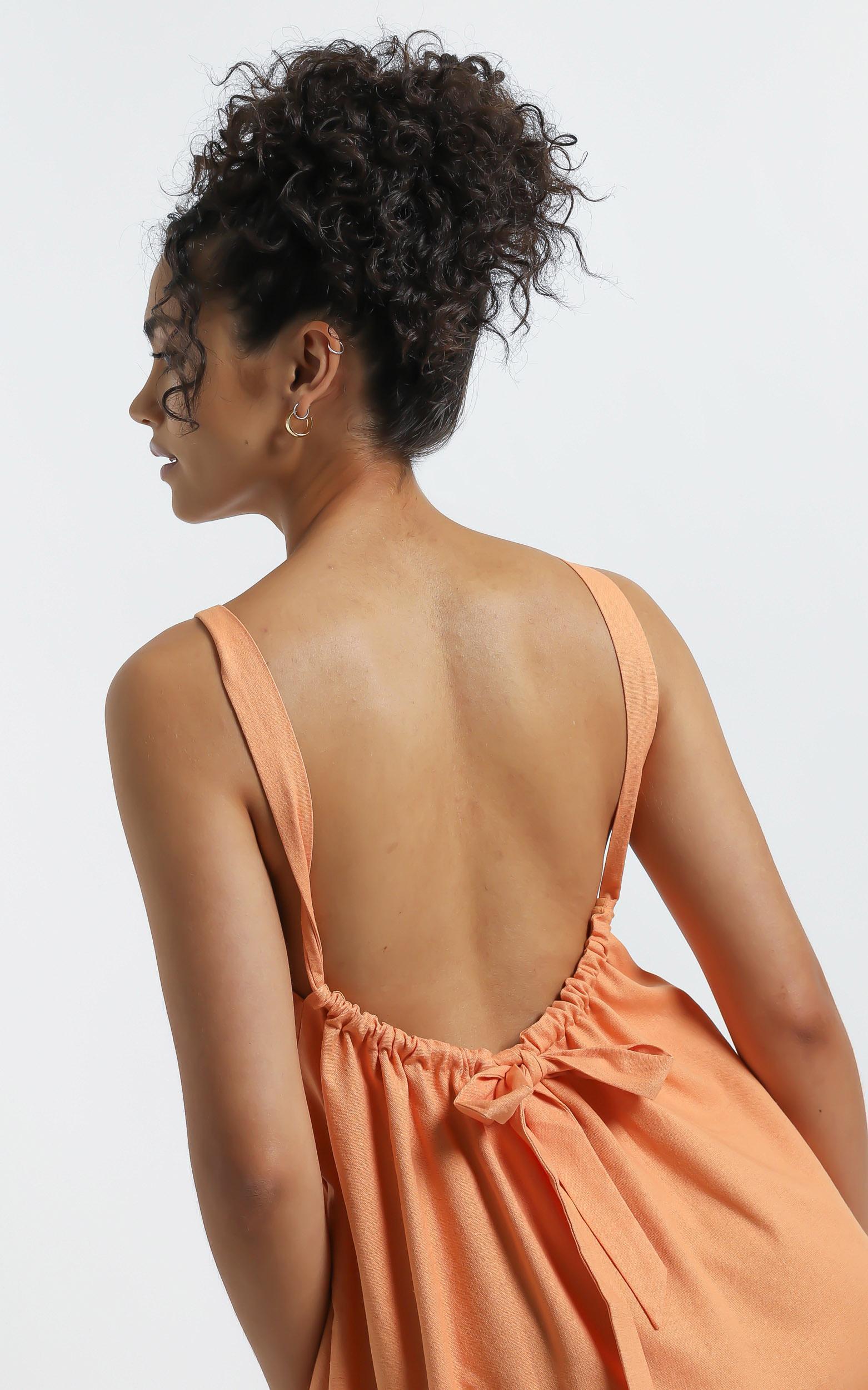 Sylvi Dress in Orange - 6 (XS), Orange, hi-res image number null