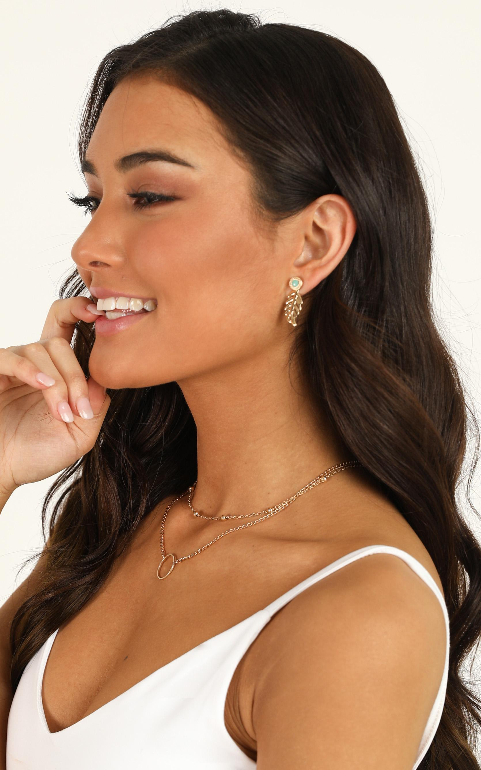 Get To It Earrings 10pc Set In Gold, , hi-res image number null