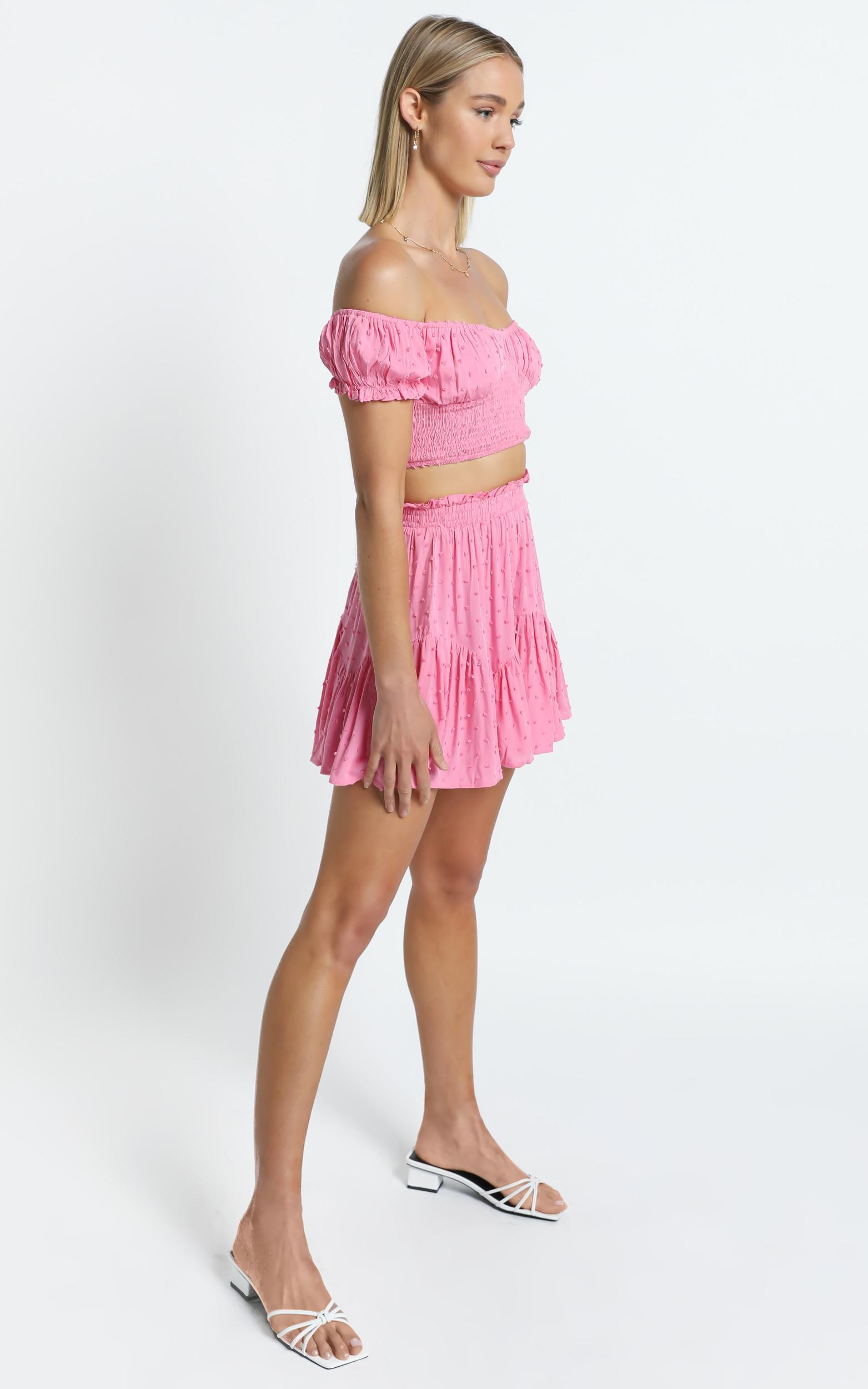 Fredi Two Piece Set in Pink - 6 (XS), Pink, hi-res image number null
