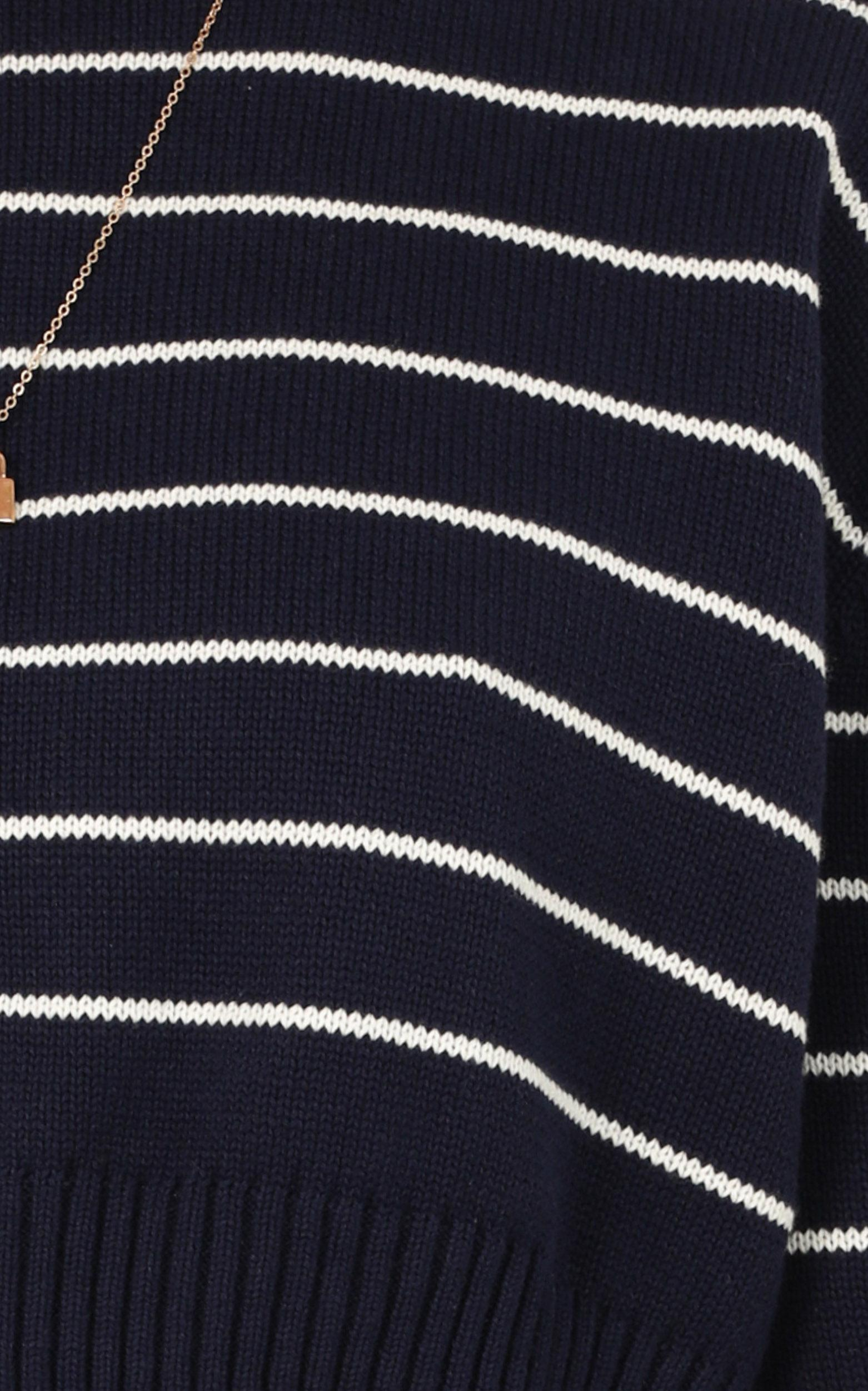 sweeter with love Knit Jumper in navy - 20 (XXXXL), Navy, hi-res image number null